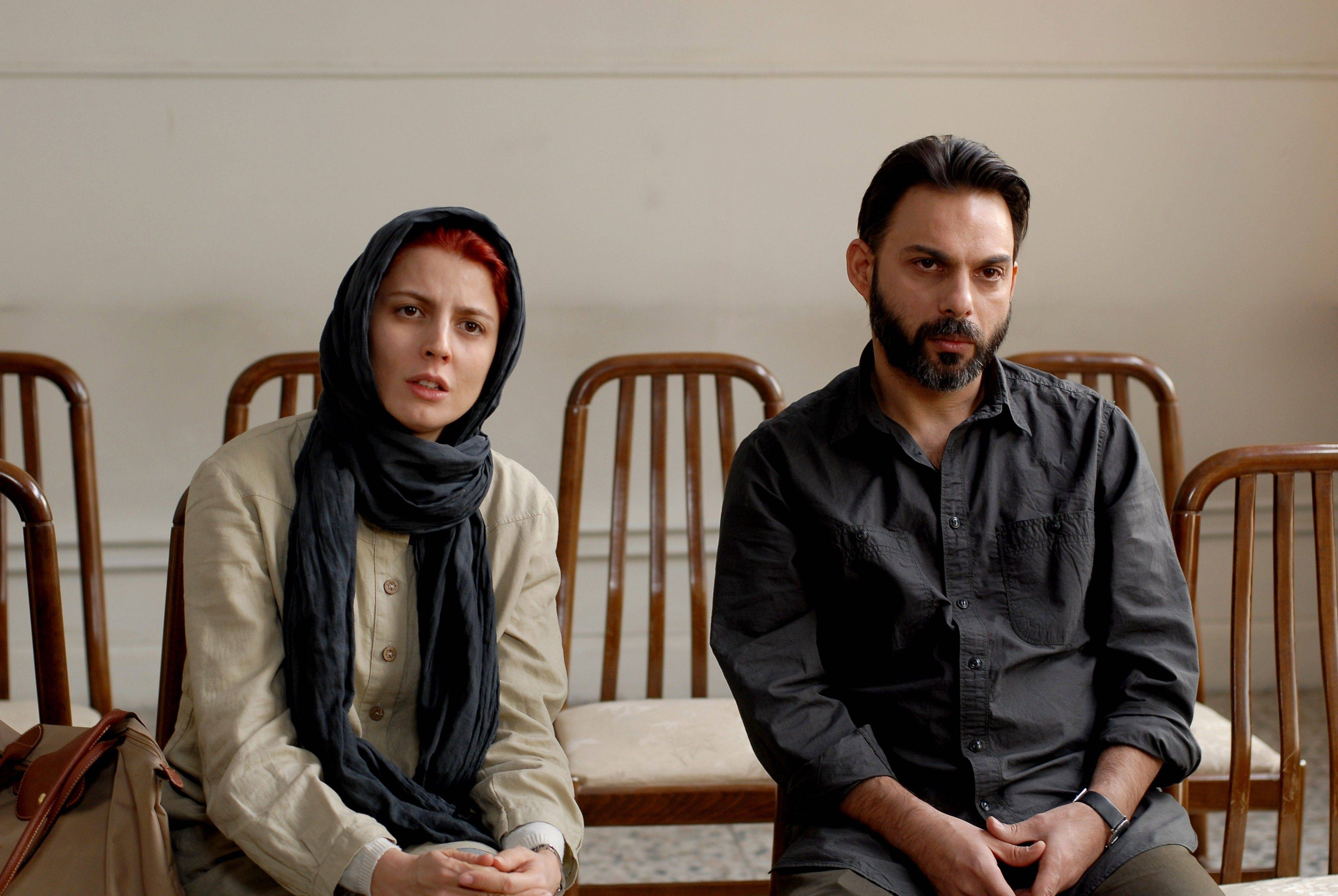 "In this film image released by Sony Pictures Classics, Leila Hatami, left, and Peyman Moadi are shown in a scene from ""A Separation."" The film was nominated Tuesday, Jan. 24, 2012 for an Academy Award for best foreign film."