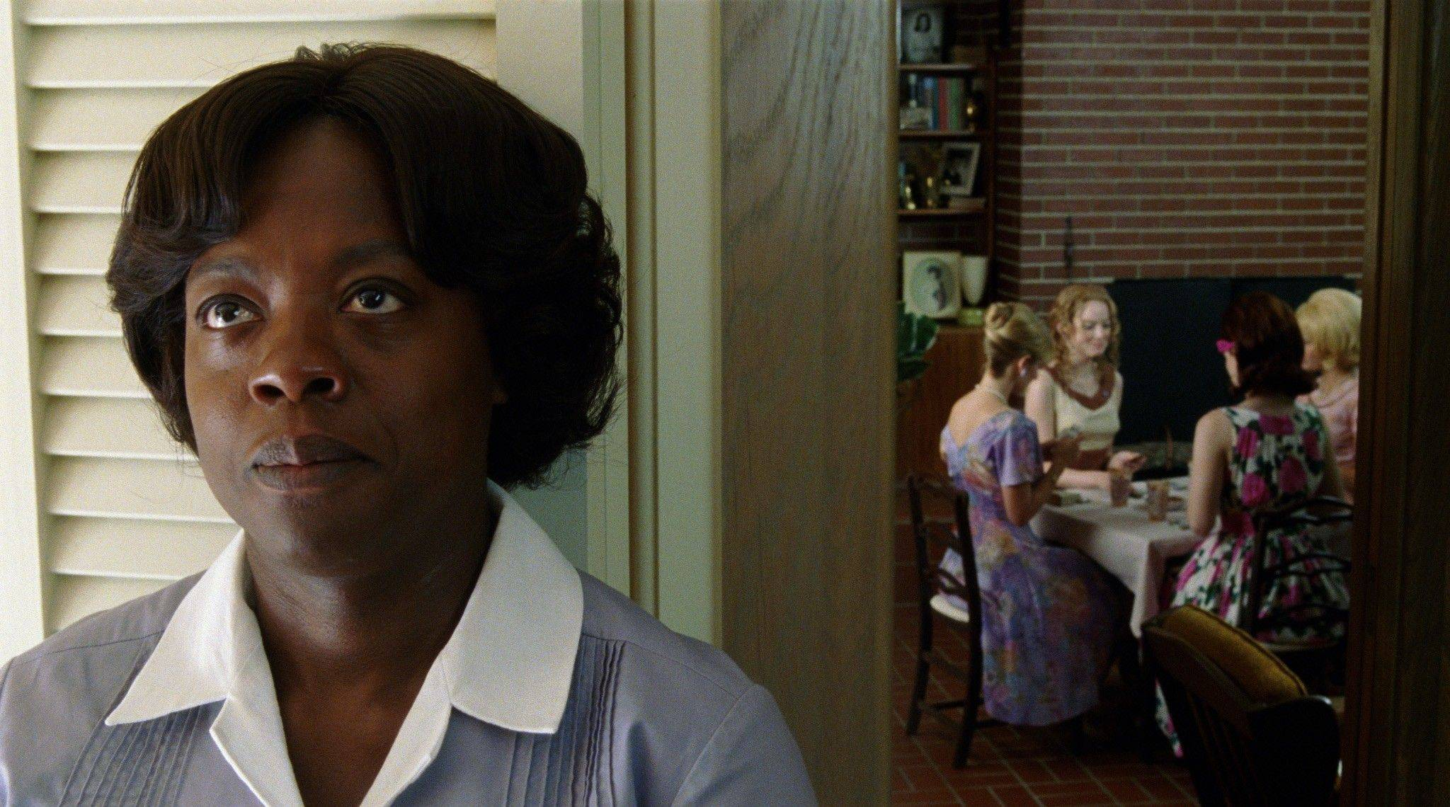 "In this film publicity image released by Disney, Viola Davis is shown in a scene from ""The Help."" The film was nominated Tuesday, Jan. 24, 2012 for an Oscar for best film."