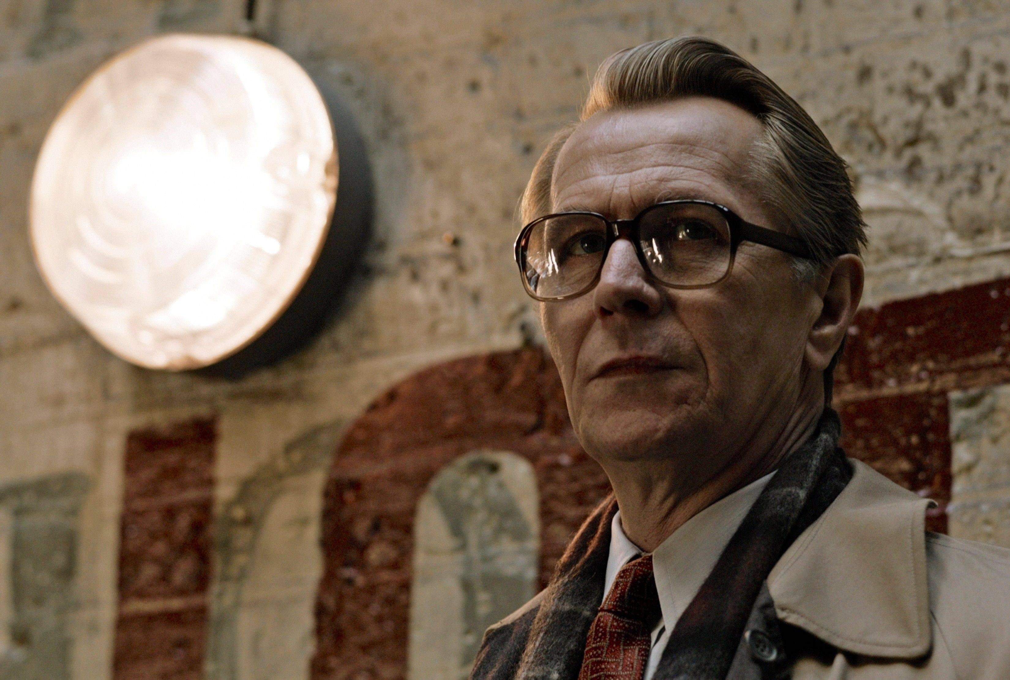 "In this film image released by Focus Features, Gary Oldman is shown in a scene from ""Tinker, Tailor, Soldier, Spy."" Oldman was nominated Tuesday, Jan. 24, 2012 for an Academy Award for best actor for his role in the film."