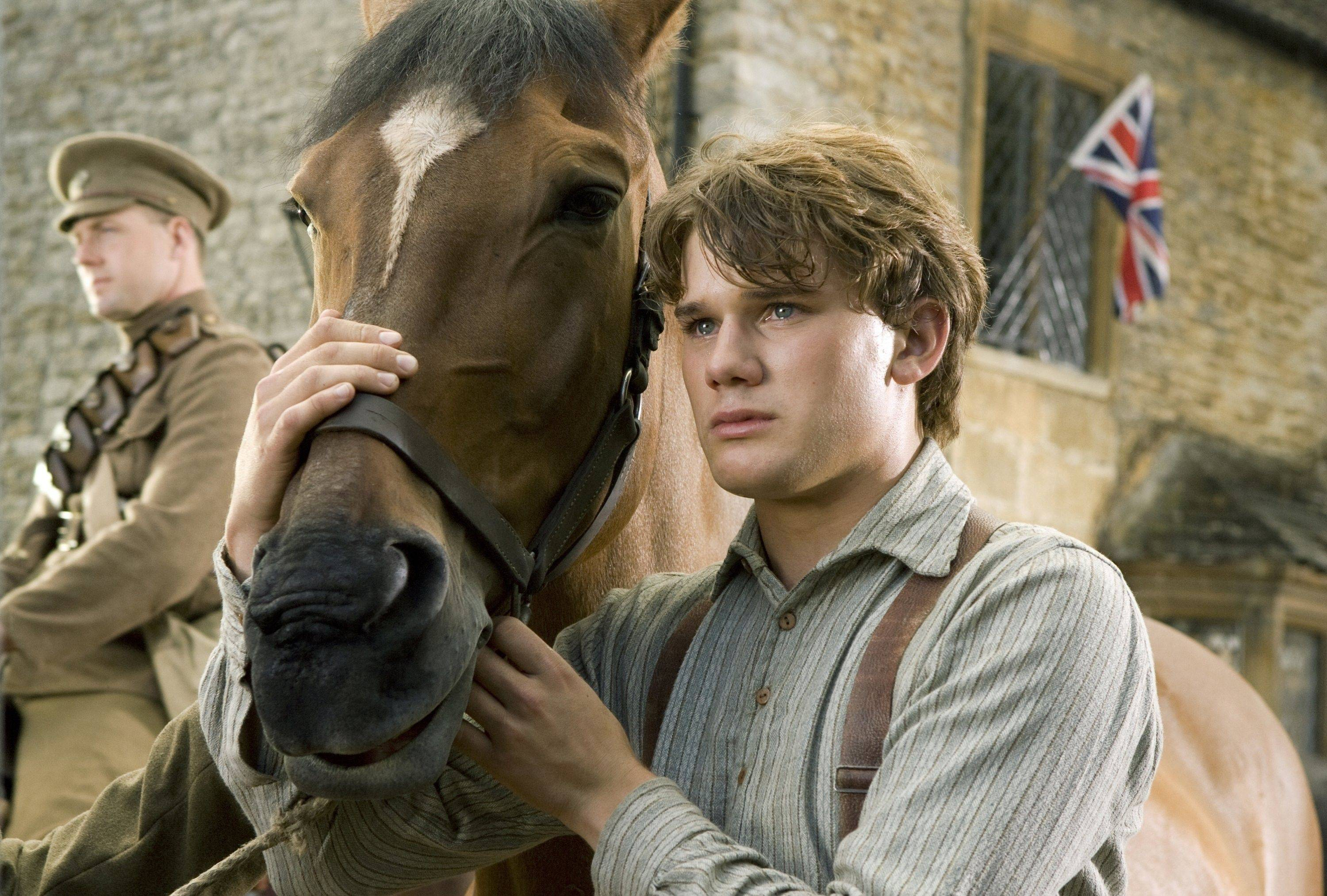 "In this film image released by Disney, Jeremy Irvine is shown in a scene from ""War Horse."" The film was nominated Tuesday, Jan. 24, 2012 for an Oscar for best film."