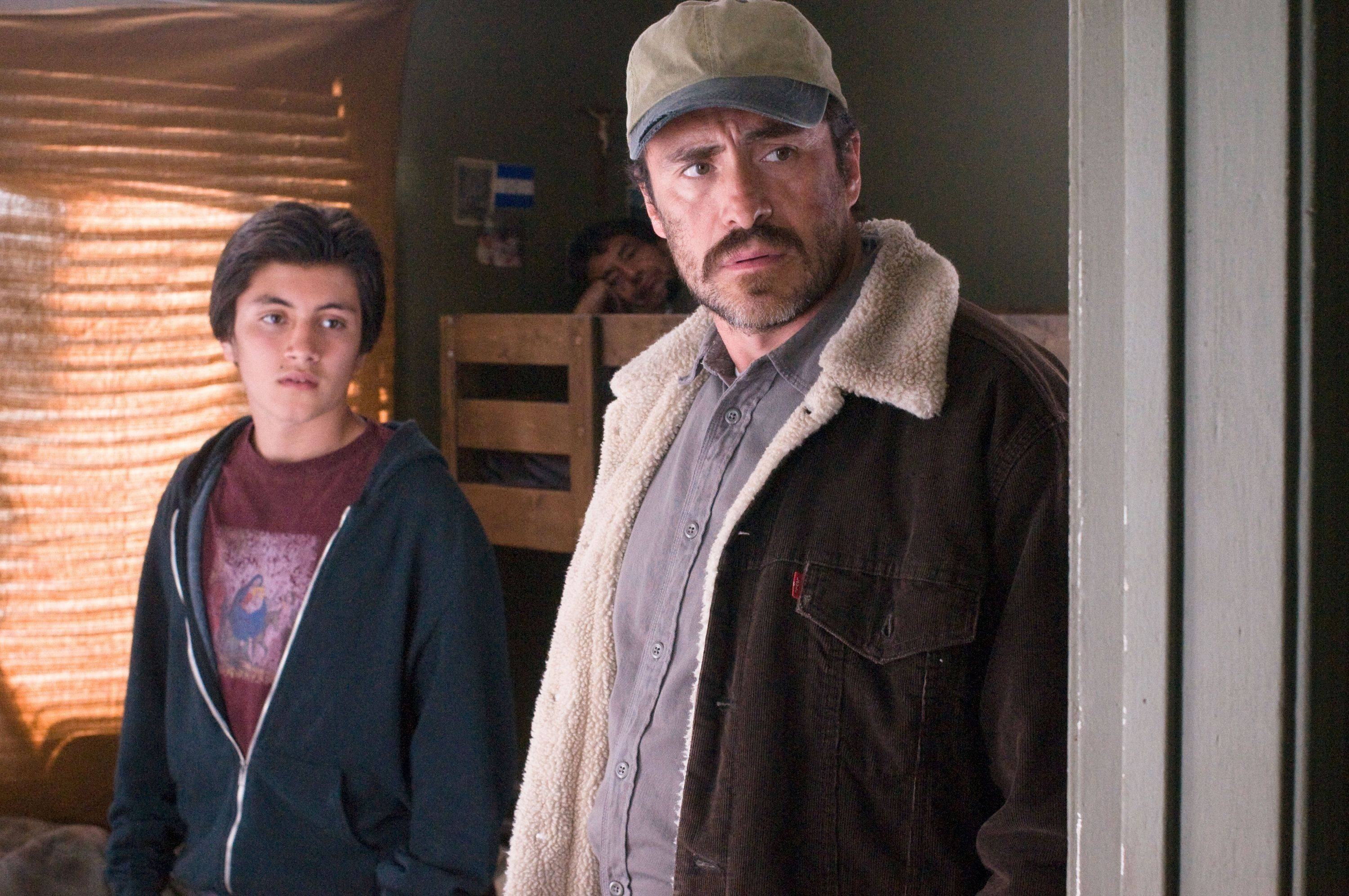 "In this file film publicity image released by Summit Entertainment, Jose Julian, left, and Demian Bichir, are shown in a scene from ""A Better Life."" Bichir was nominated Tuesday, Jan. 24, 2012 for an Academy Award for best actor for his role in the film."
