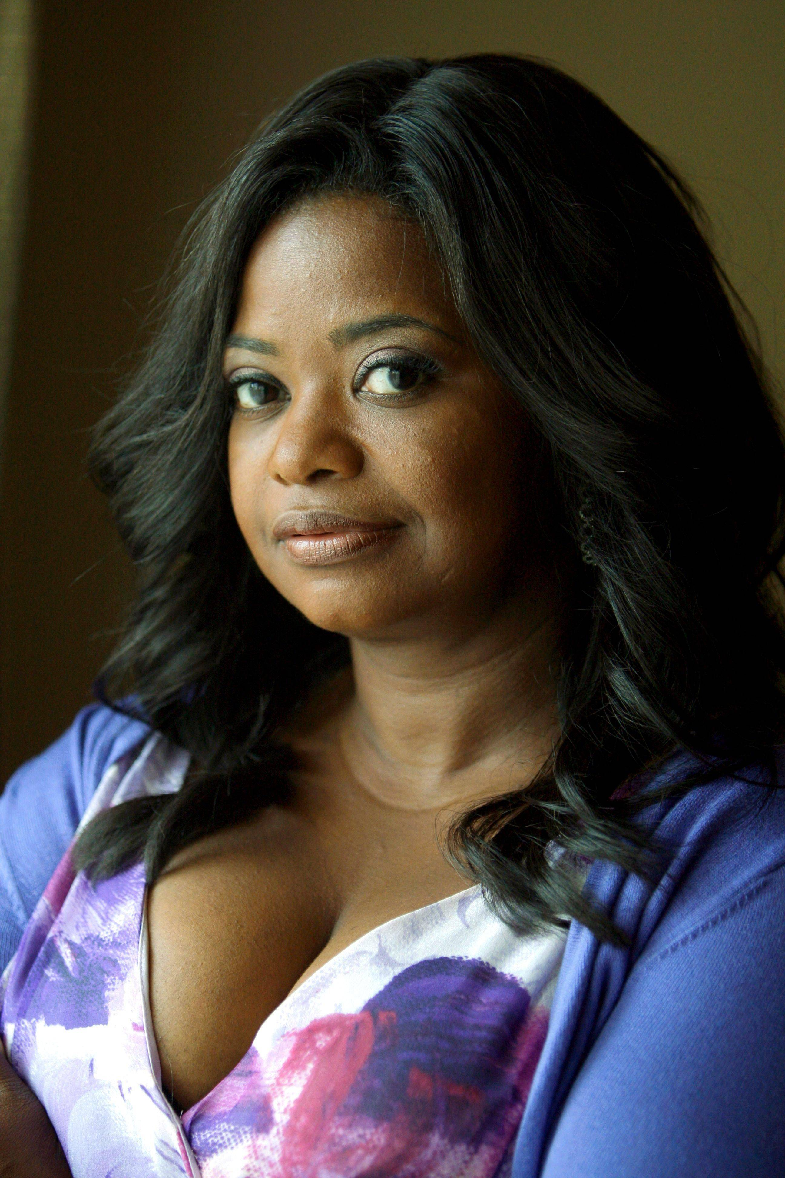 "In this July 8, 2011 photo, actress Octavia Spencer poses for a portrait during in Los Angeles. Spencer was nominated Tuesday, Jan. 24, 2012 for an Academy Award for best supporting actress for her role in ""The Help."""