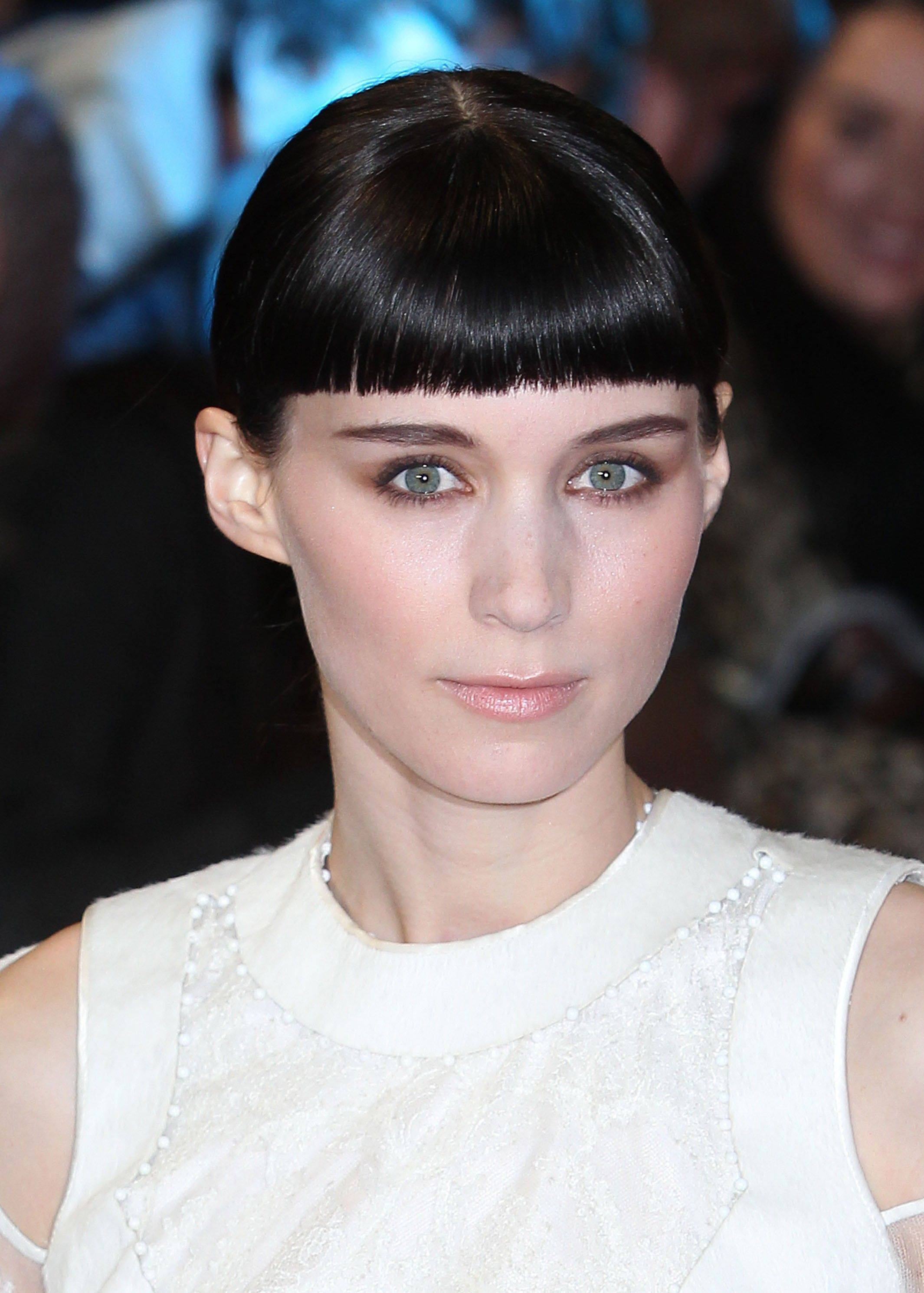 "In this Dec. 12, 2011 file photo, actress Rooney Mara, who plays Lisbeth Salander, arrives for the World Premiere of ""The Girl With The Dragon Tattoo,"" in London. Mara was nominated Tuesday, Jan. 24, 2012 for an Academy Award for best actress for her role in the film."