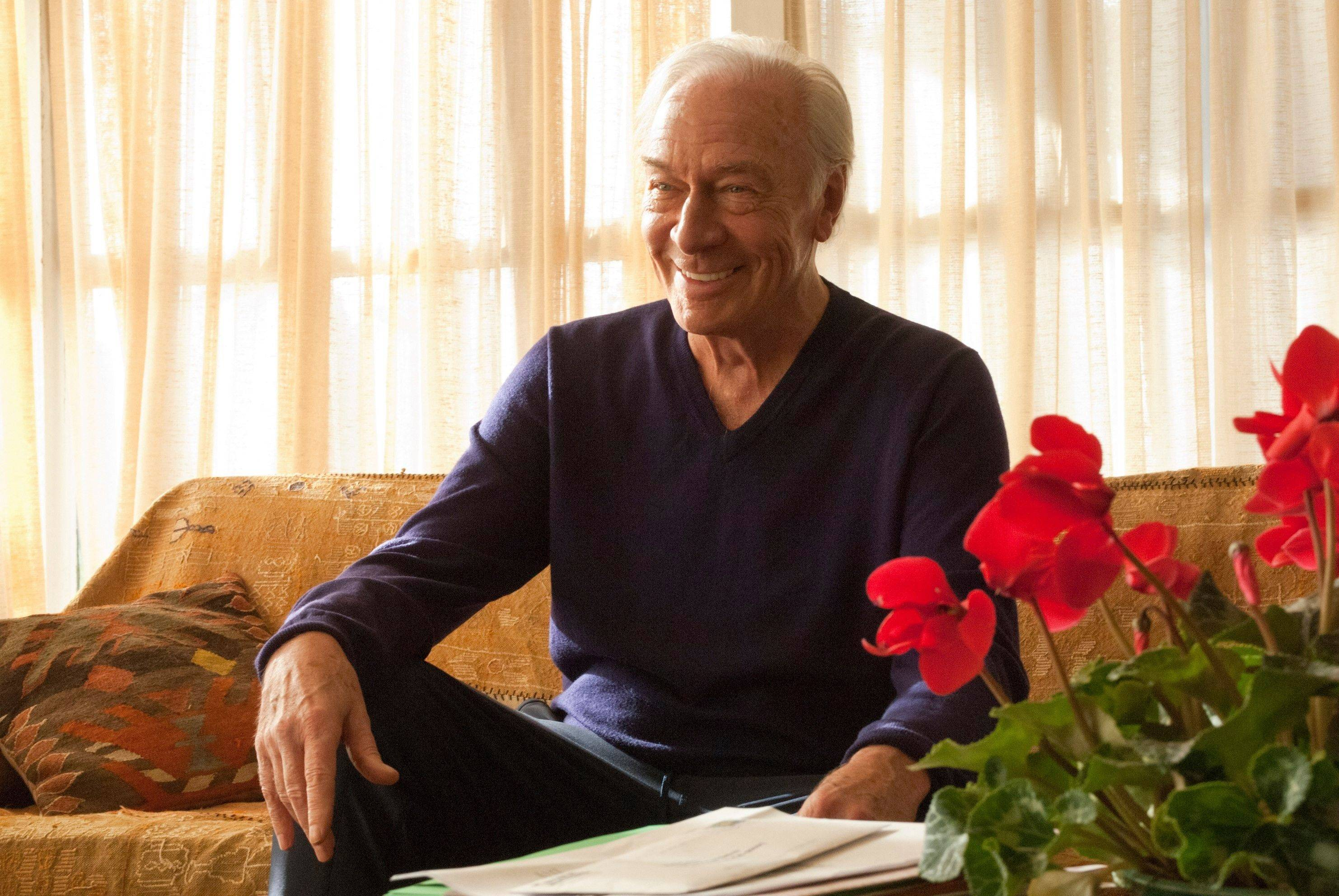 "In this film publicity image released by Focus Features, Christopher Plummer is shown in a scene from ""Beginners."" Plummer was nominated Tuesday, Jan. 24, 2012 for an Academy Award for best supporting actor for his role in the film."