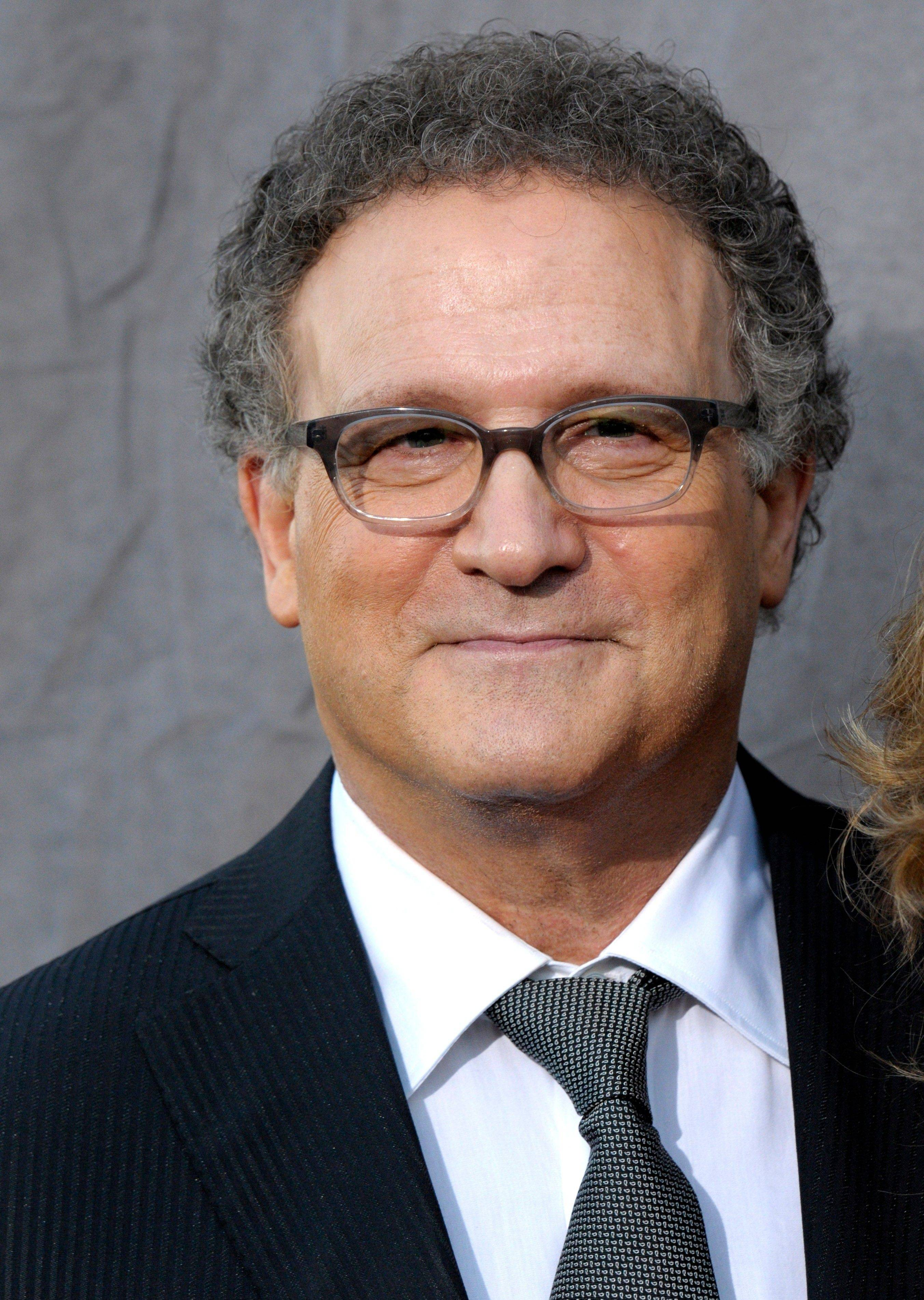 "In this Jan. 12, 2012 file photo, actor Albert Brooks arrives at the 17th Annual Critics' Choice Movie Awards in Los Angeles. Brooks has been hailed for this against-type performance as a violent gangster in the neo-noir thriller ""Drive"". But Brooks was not nominated for an Academy Award for best supporting actor."