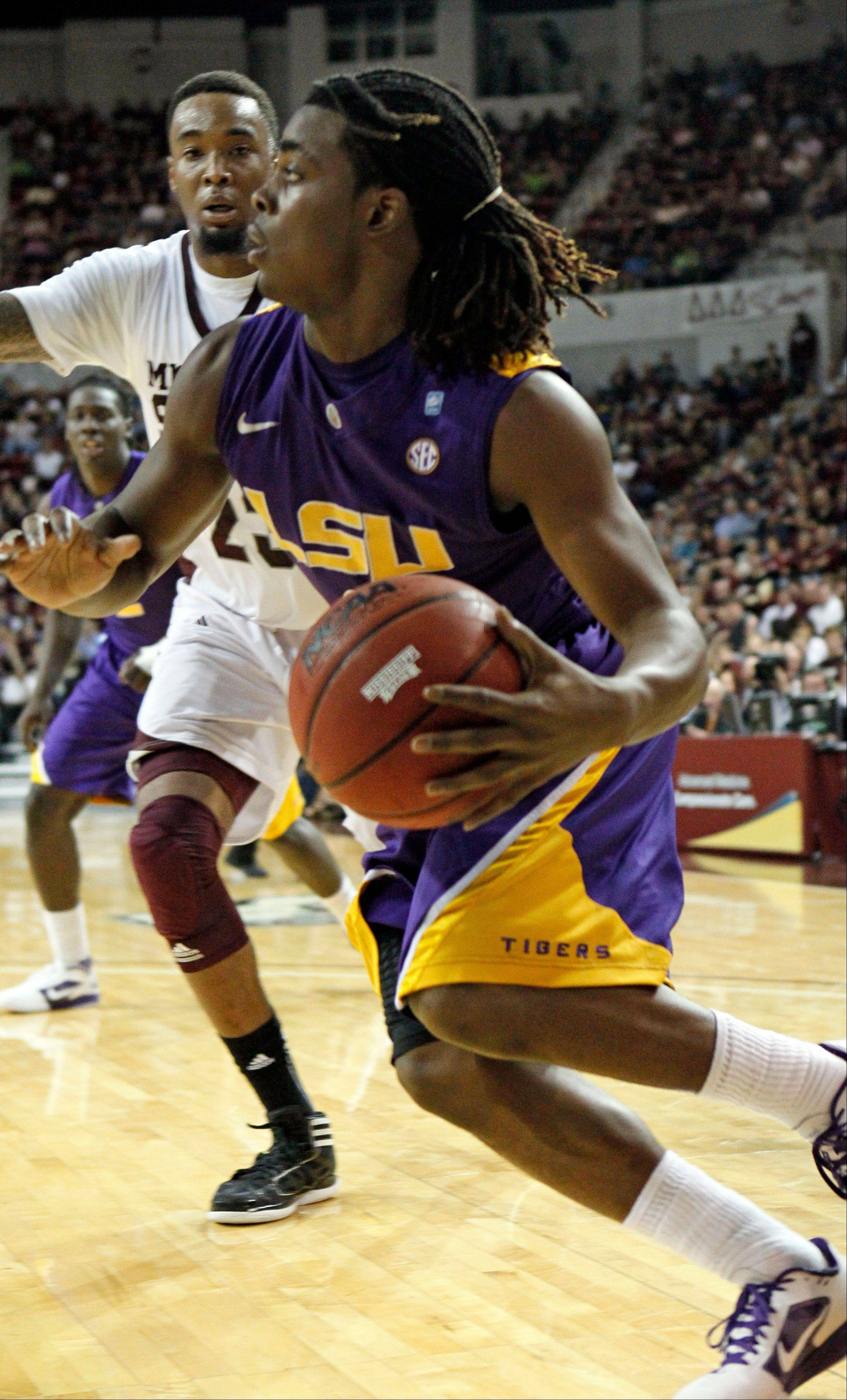 LSU falls 76-71 to No. 18 Mississippi State