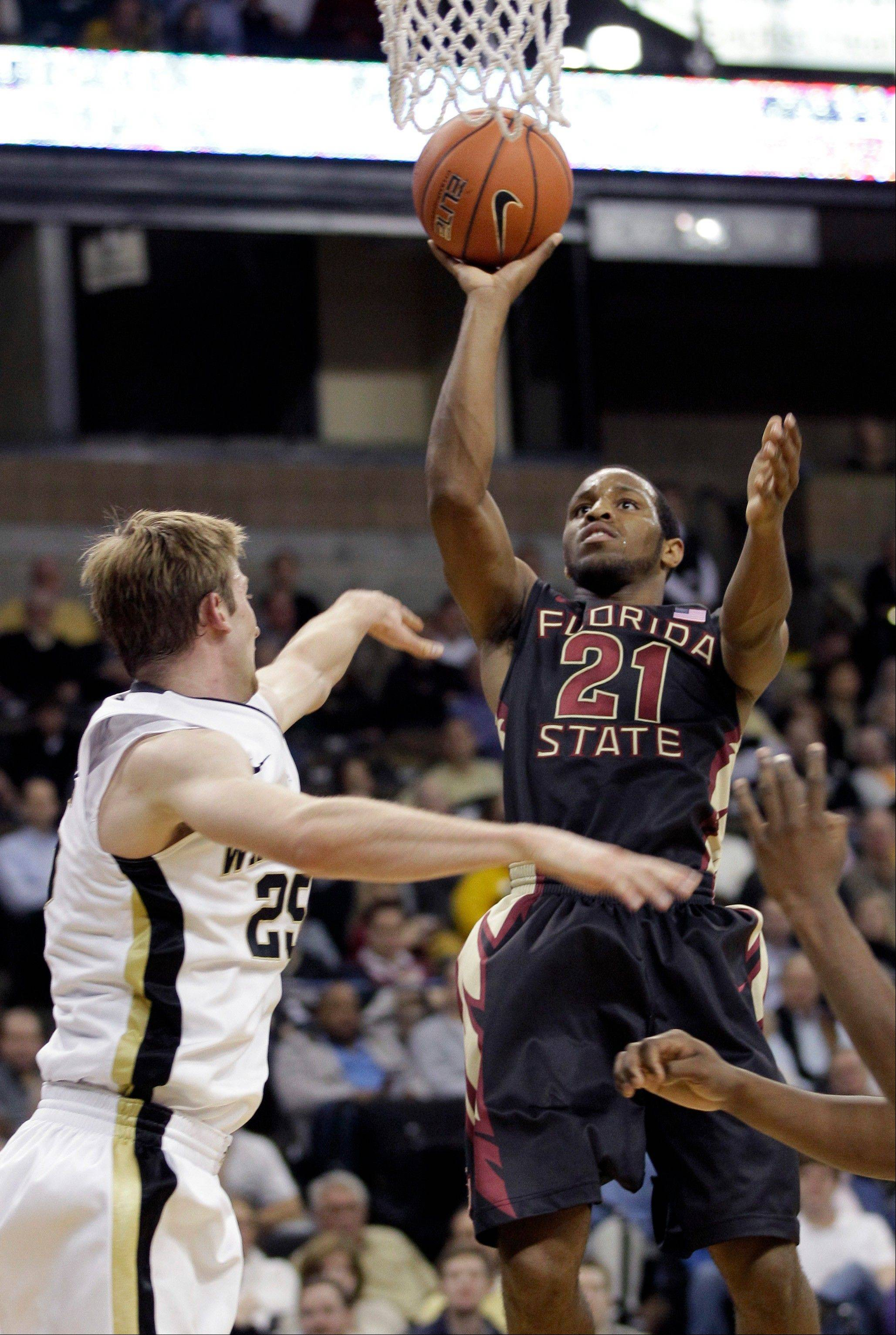 Snaer scores 18 as No. 23 FSU routs Wake Forest