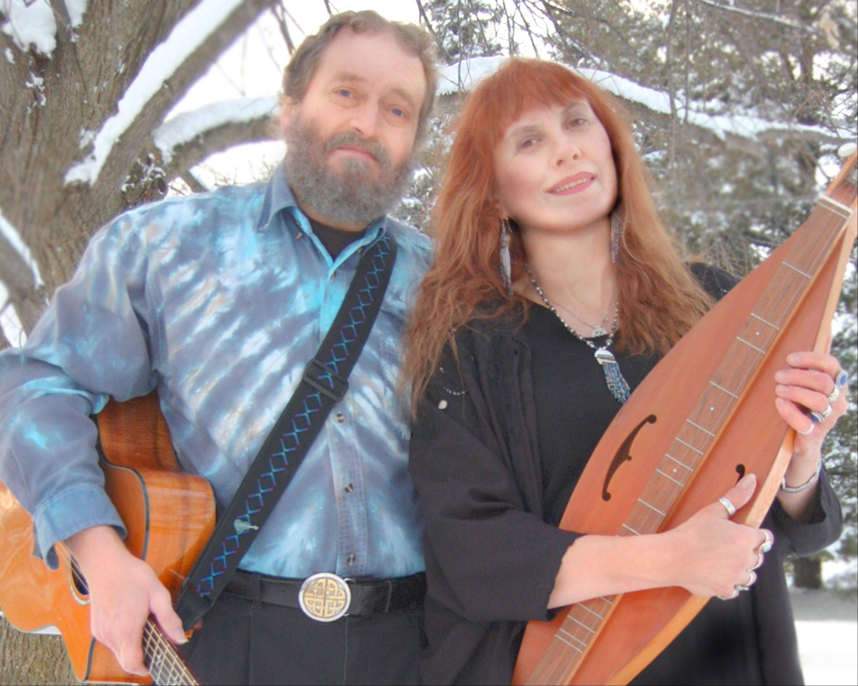 February Sky with singer and Celtic guitarist Phil Cooper and songwriter and singer Susan Urban will perform Friday, Jan. 27, in Geneva.