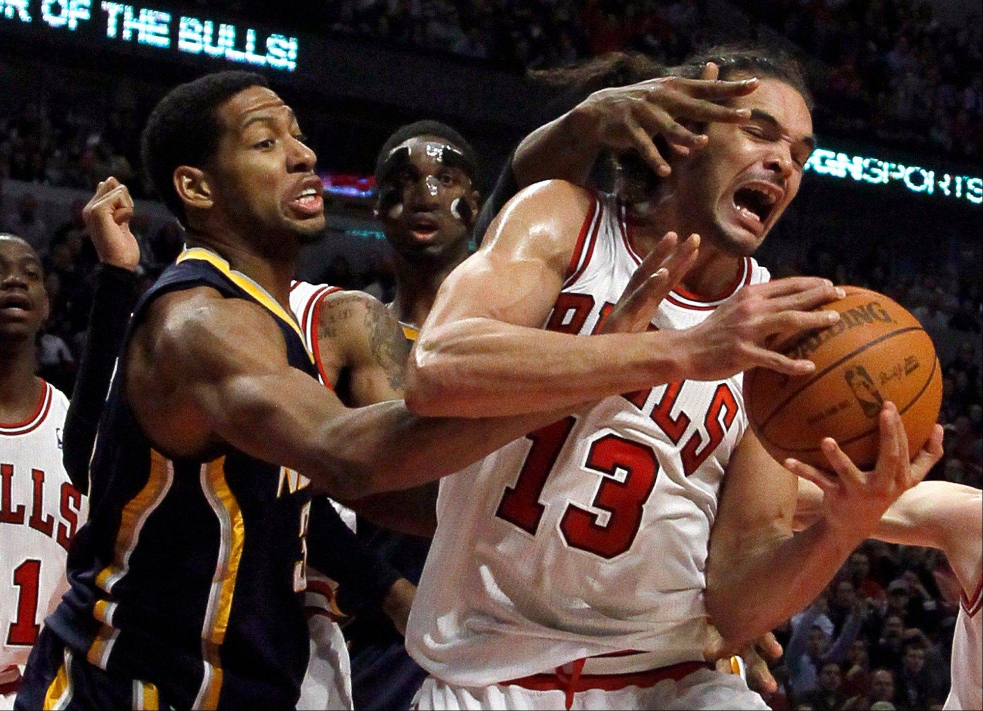 The Indiana Pacers roughed up the short-handed Bulls on Wednesday, handing them their first home loss of the season. The improving Milwaukee Bucks will try to make a similar statement Friday before the Bulls leave on a two-week road trip.