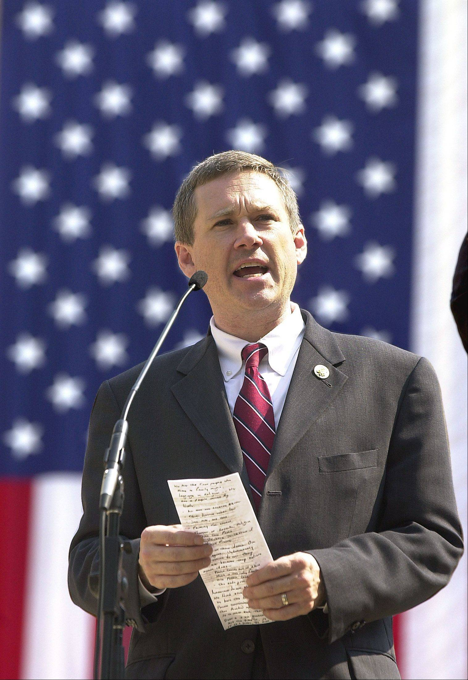Senator Mark Kirk's brain swelling stabilized