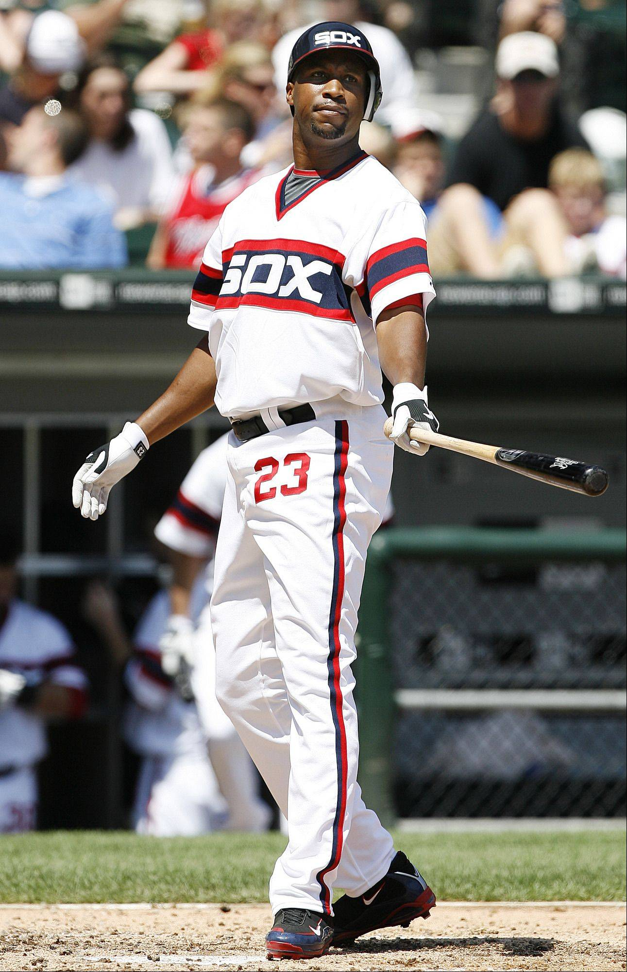 Chicago White Sox's Jermaine Dye.