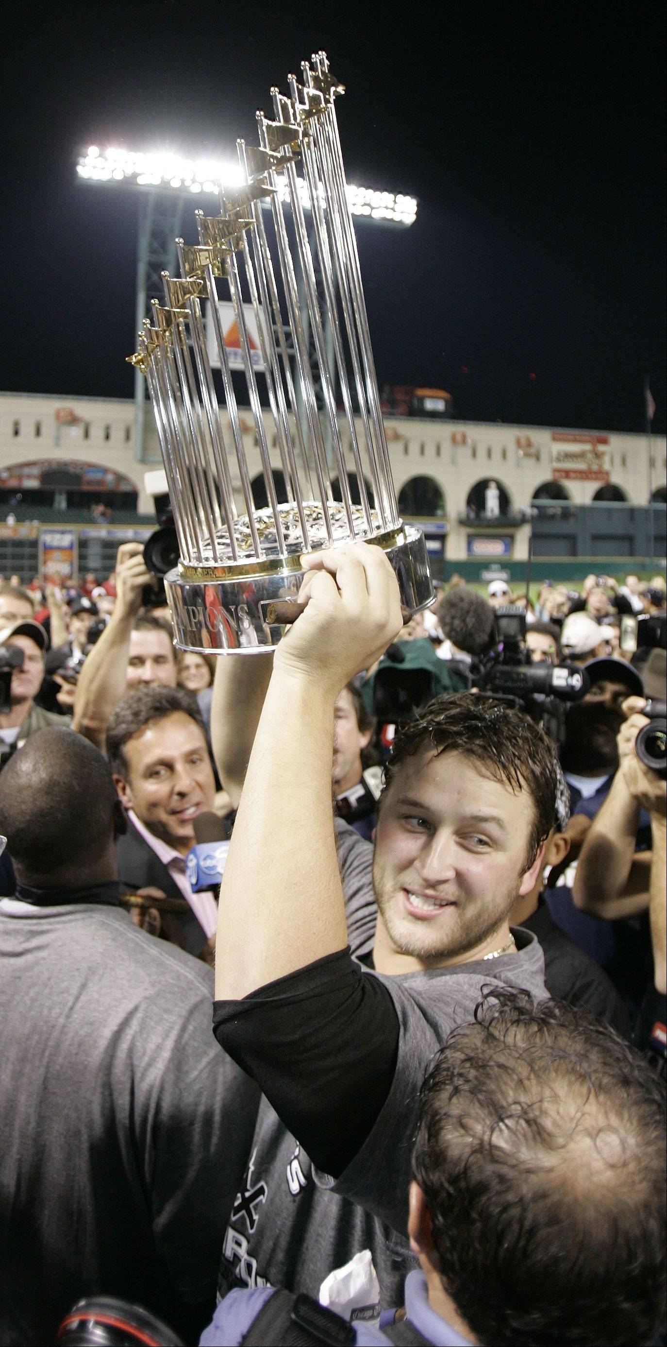 Mark Buehrle during the 2005 World Series in Chicago.