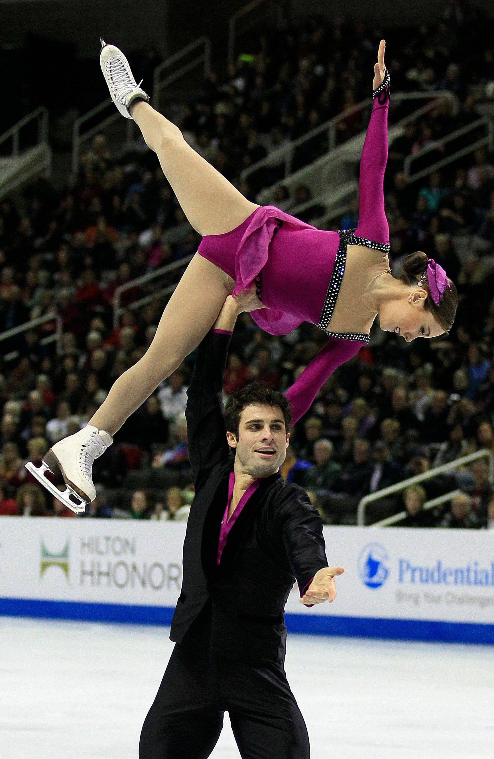This difficult one-arm lift helped Mary Beth Marley of Downers Grove and Rockne Brubaker of Algonquin finish second at the U.S. Figure Skating Championships in San Jose, Calif., Sunday.