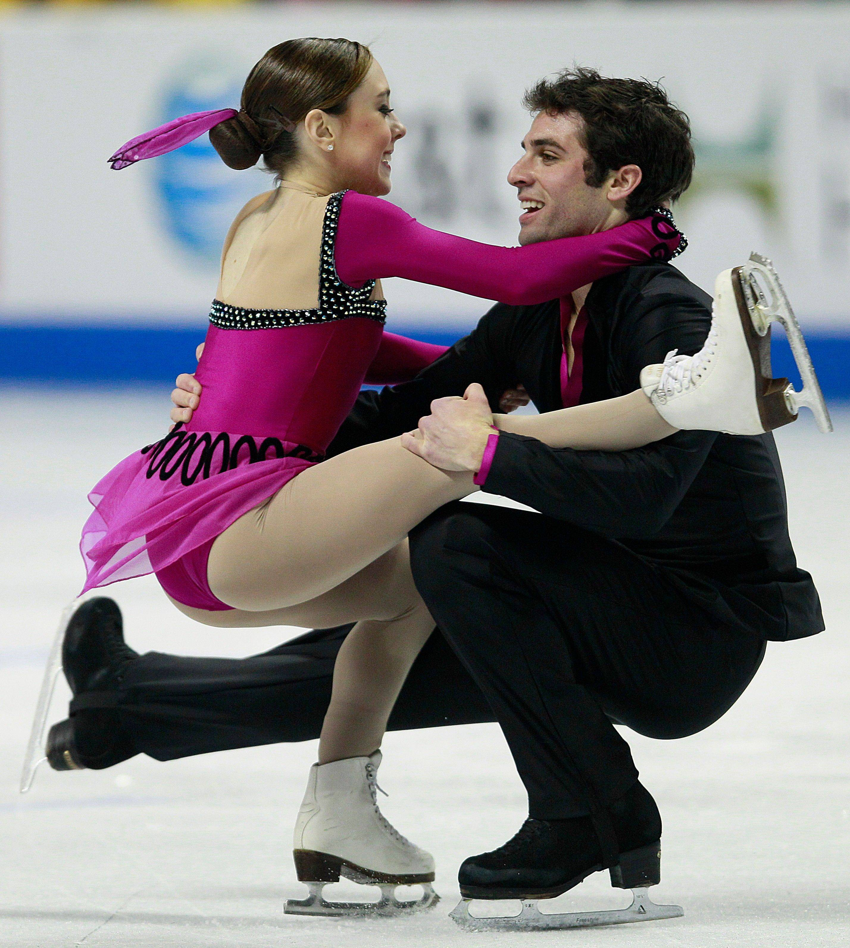 Mary Beth Marley and Rockne Brubaker finished second in the pairs free skate event at the U.S. Figure Skating Championships in San Jose, Calif., Sunday, and qualified to represent the United States at the World Figure Skating Championship in France in March.