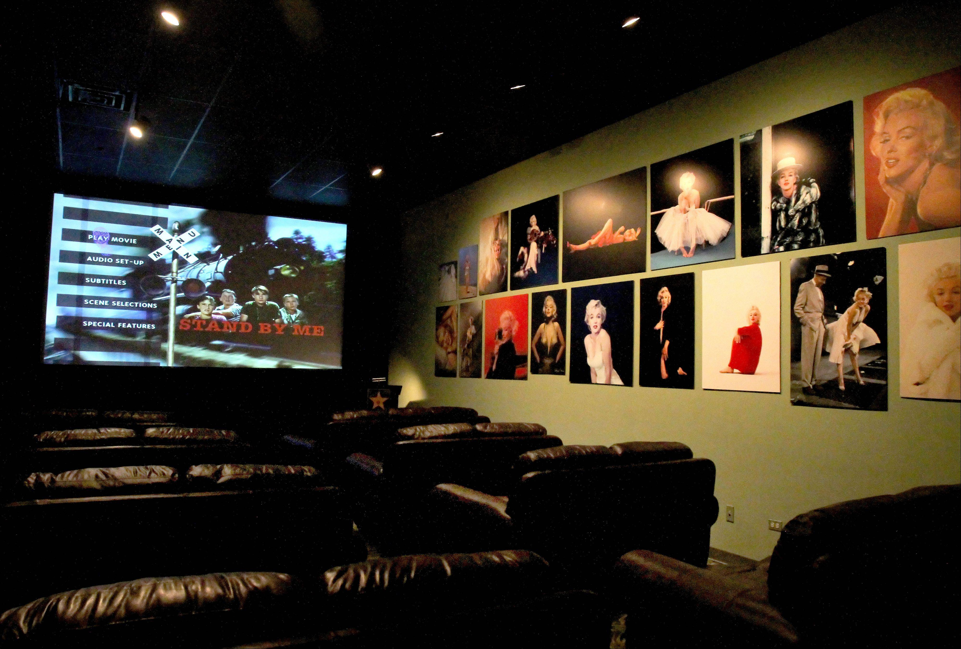 A private theater can be rented at the Hollywood Palms Cinema in Naperville.