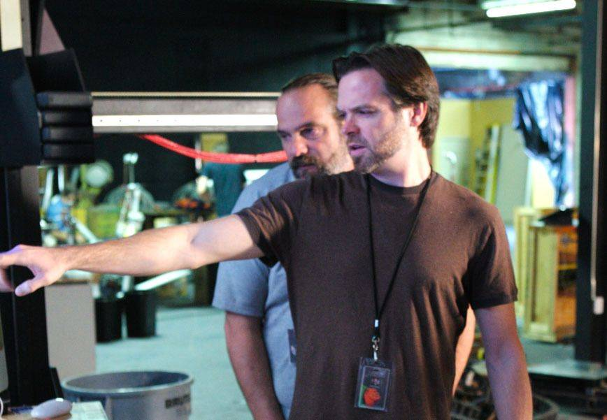 "Wood Dale native Colin Brady, right, has worked on such films as ""Hugo"" and ""Green Lantern."""