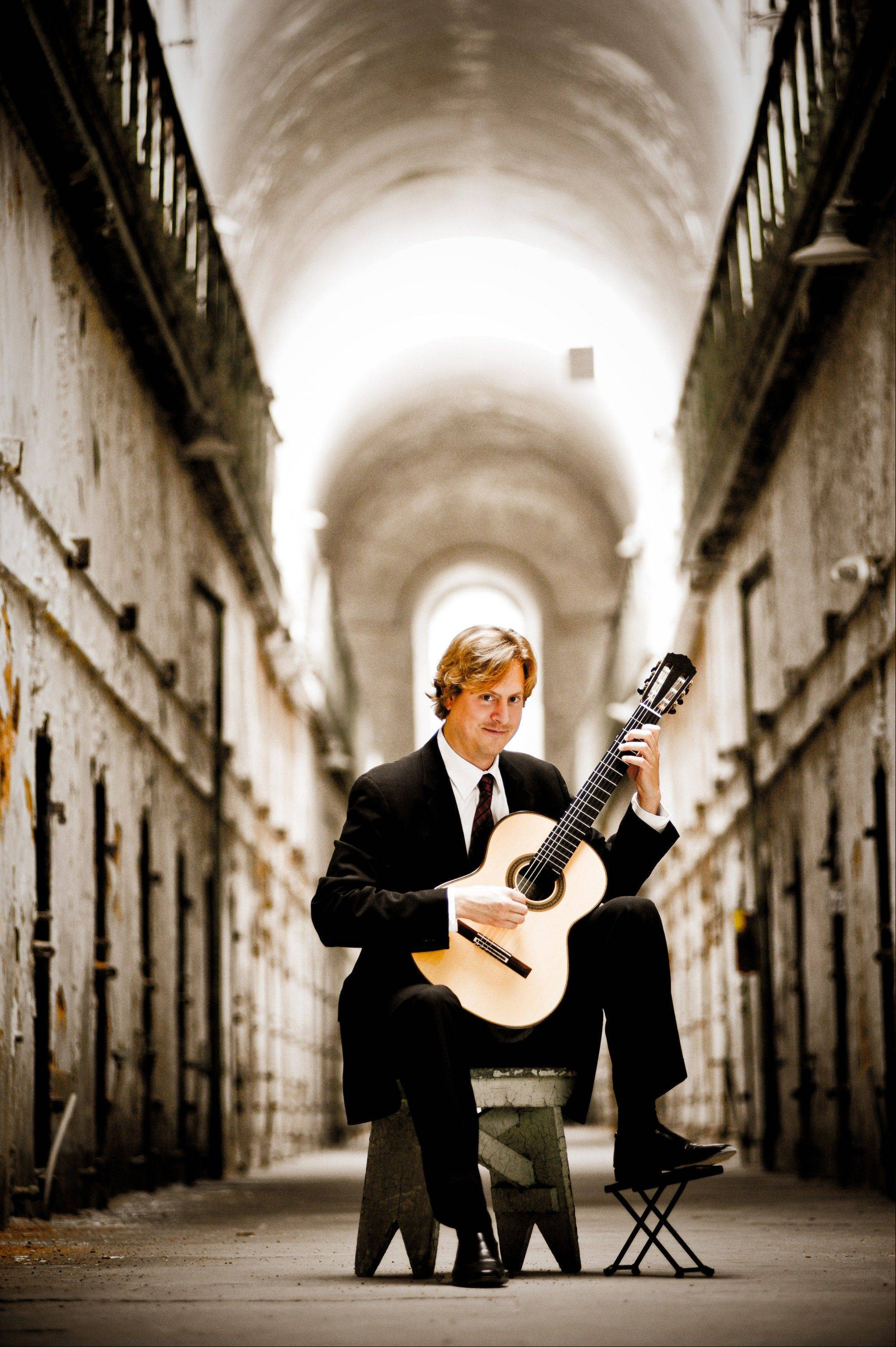 "Guitarist Jason Vieaux joins with the Elgin Symphony Orchestra for its concert ""My Passionate Valentine."""