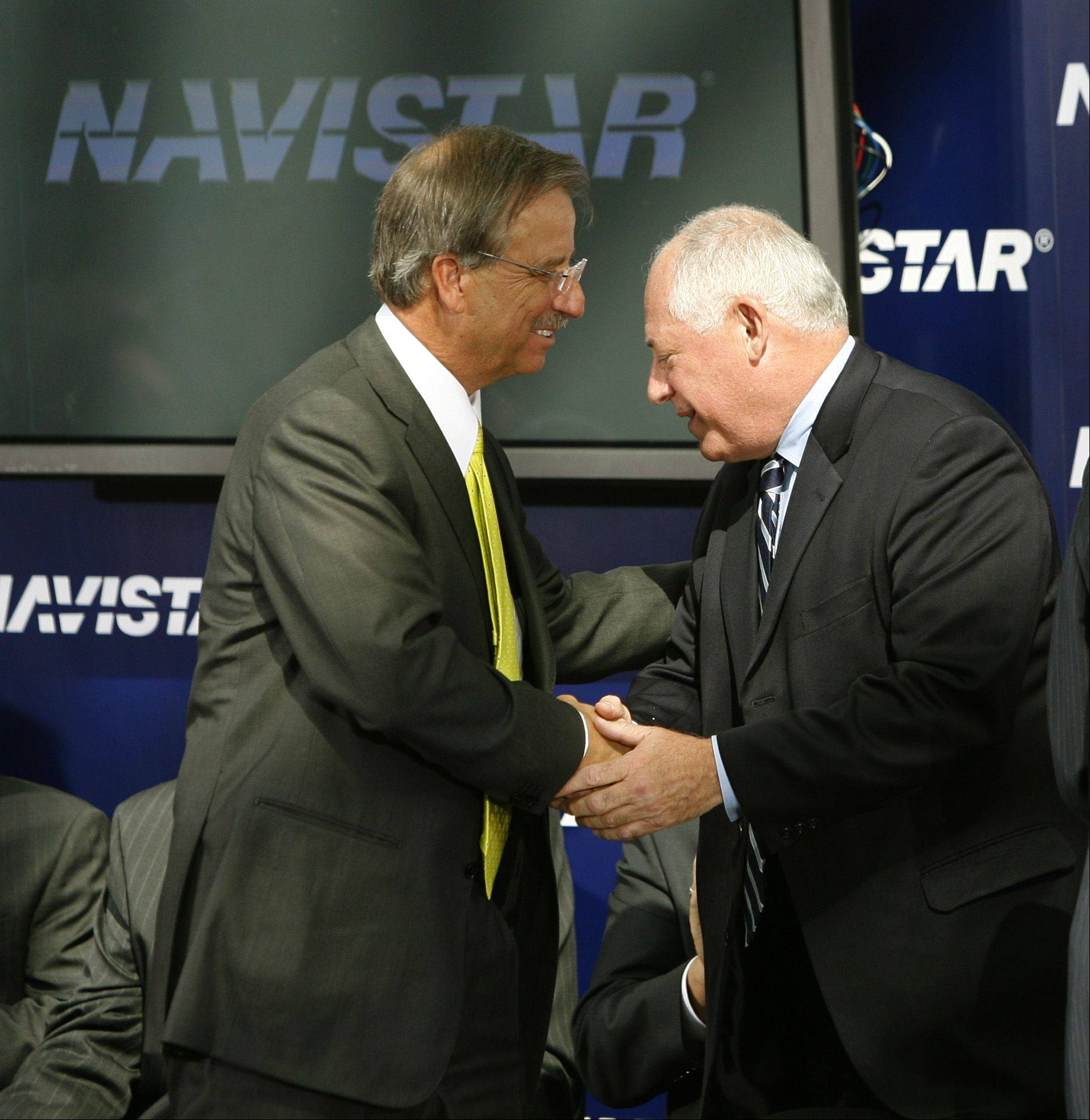 Navistar CEO to lead Quinn exports group