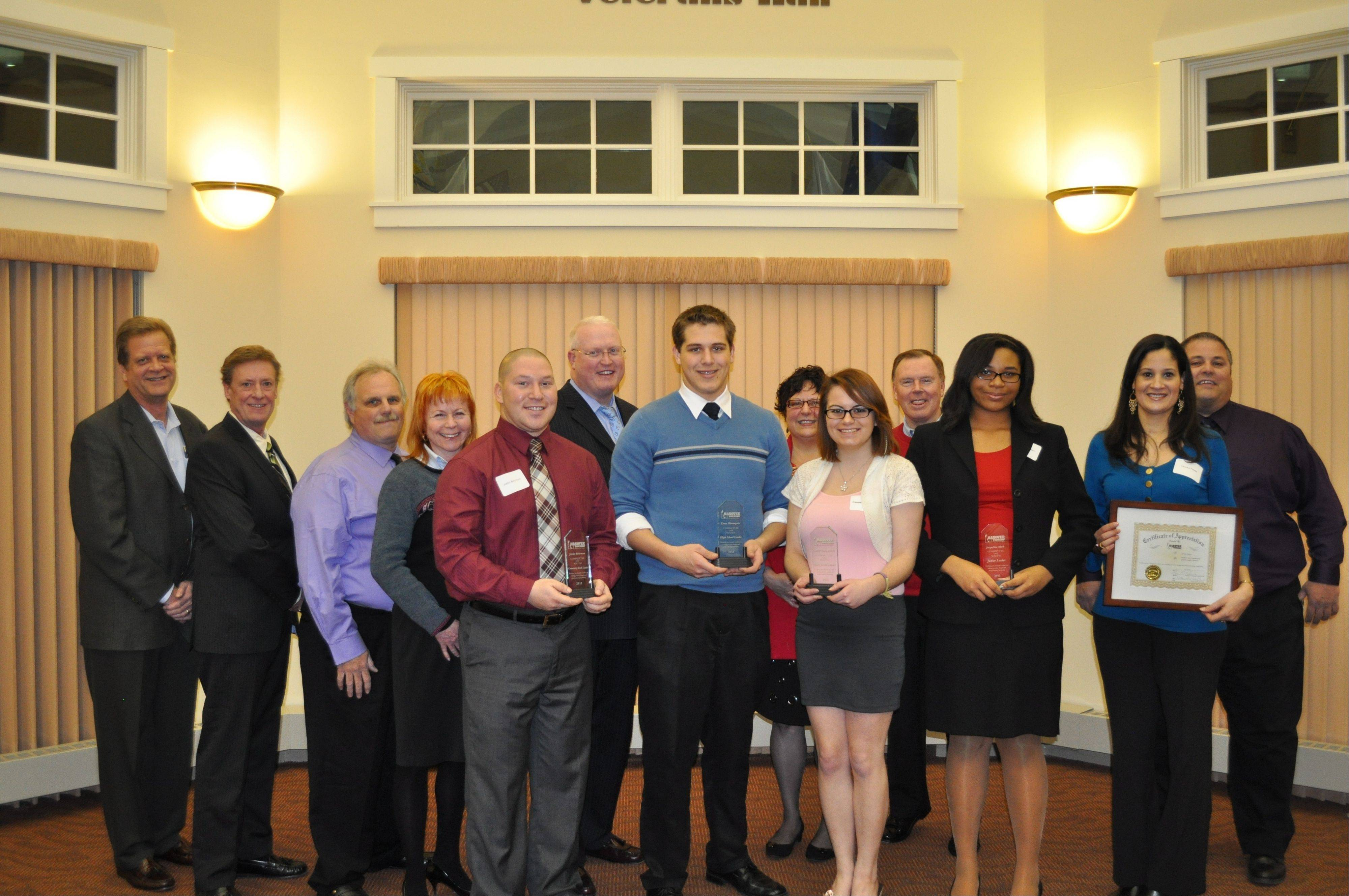 Hanover Township salutes youth leaders