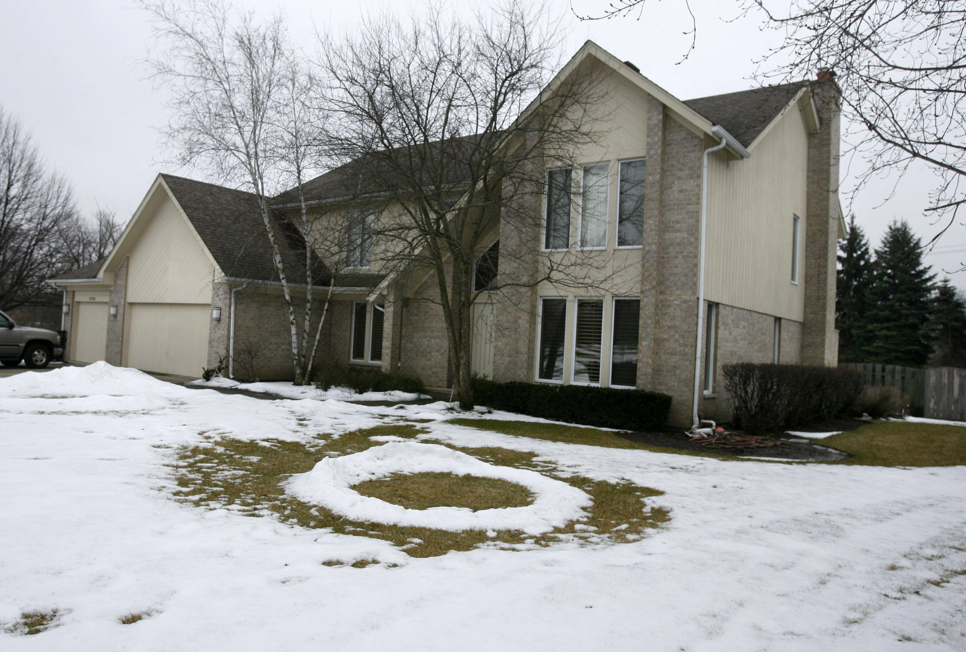 This home on Acacia Court South is typical of houses found in the Sterling Green neighborhood of Buffalo Grove.