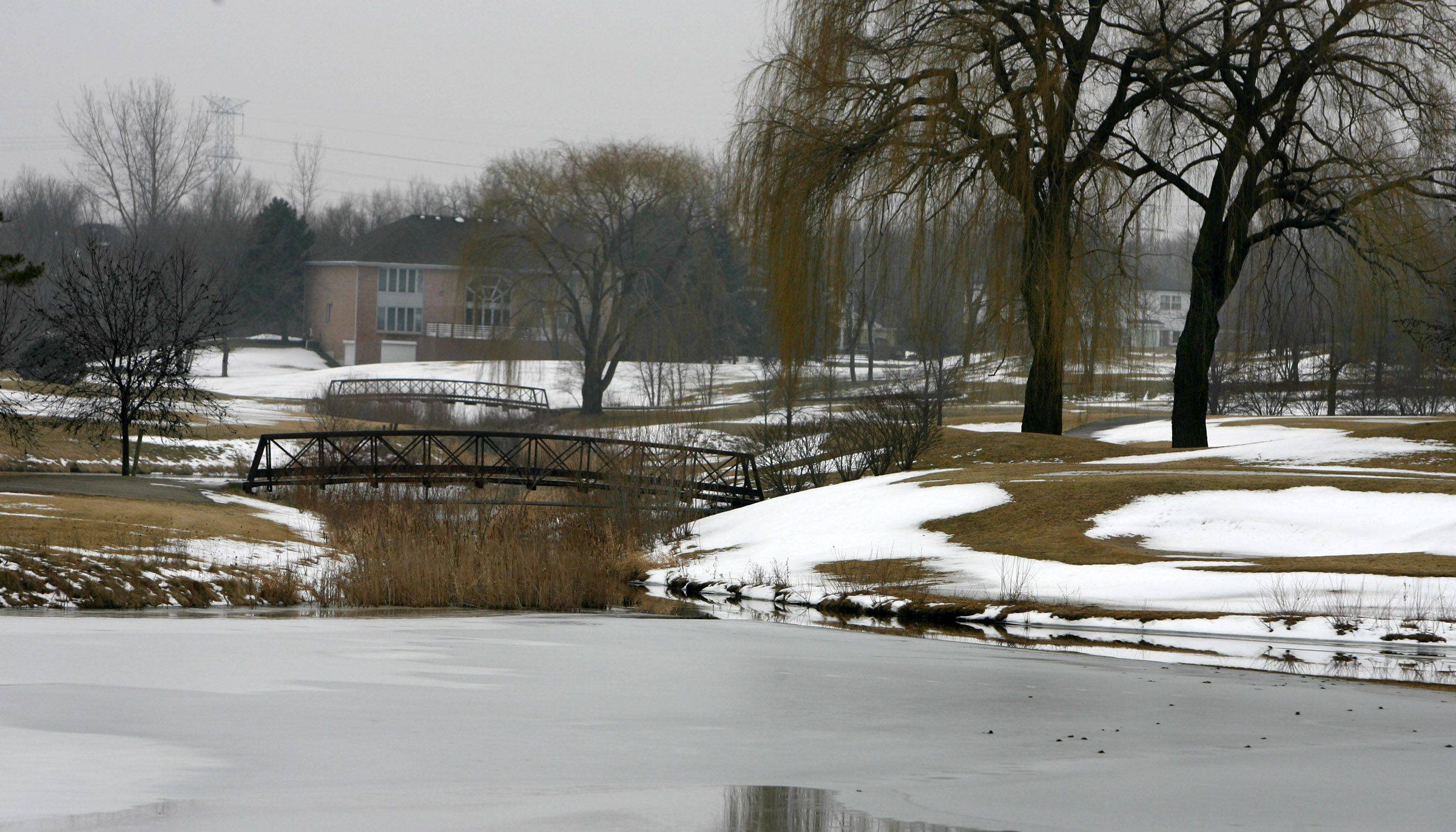 The Sterling Green neighborhood in Buffalo Grove is adjacent to the village's Arboretum Golf Course.