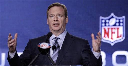 During his annual Super Bowl news conference, Commissioner Roger Goodell said Friday there hasn't been any discussion about adding to the league's 32 teams, and indicated he's not too keen about the idea of shifting a franchise, either.
