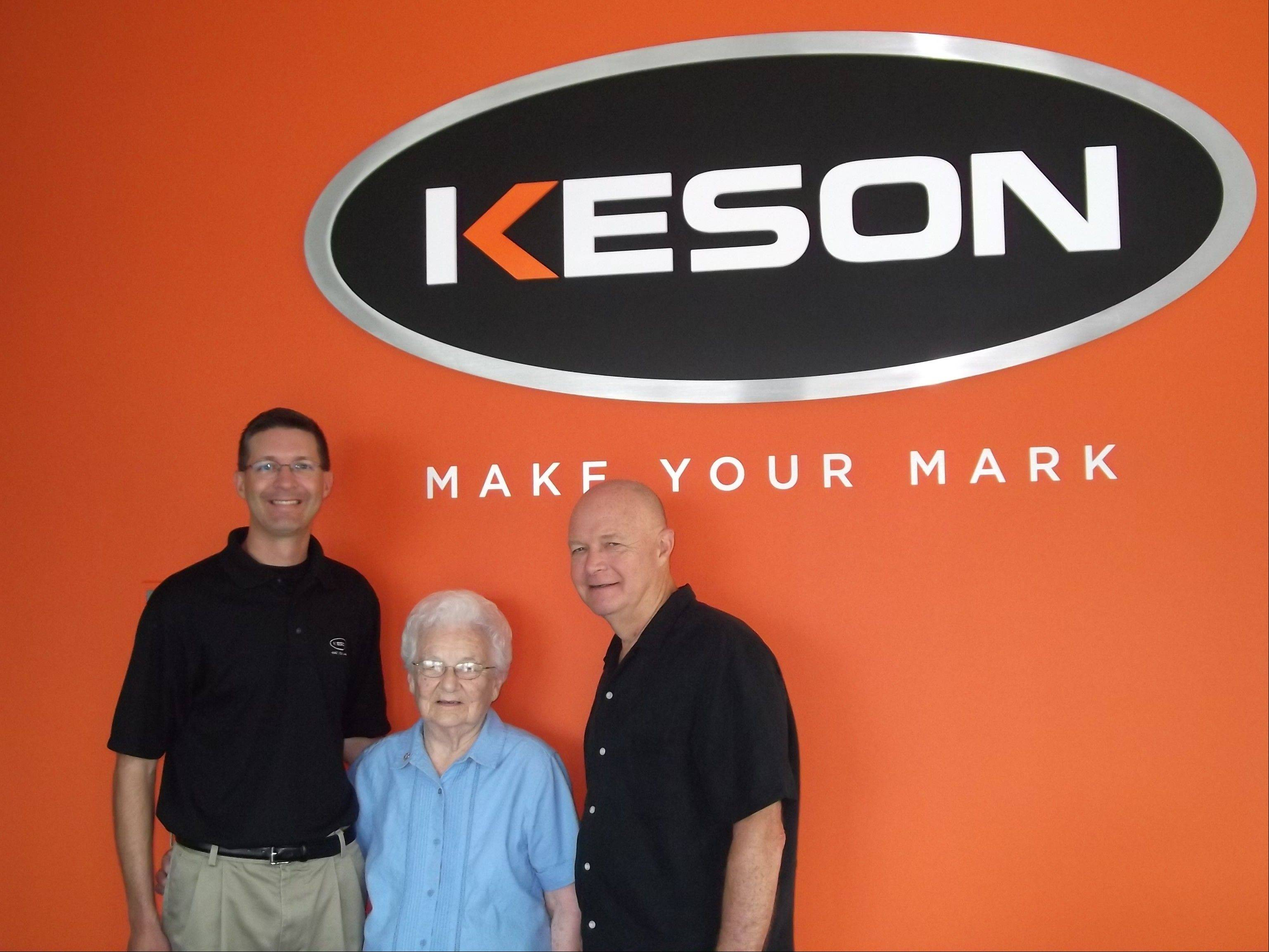 The Nosek family runs Aurora-based Keson Industries