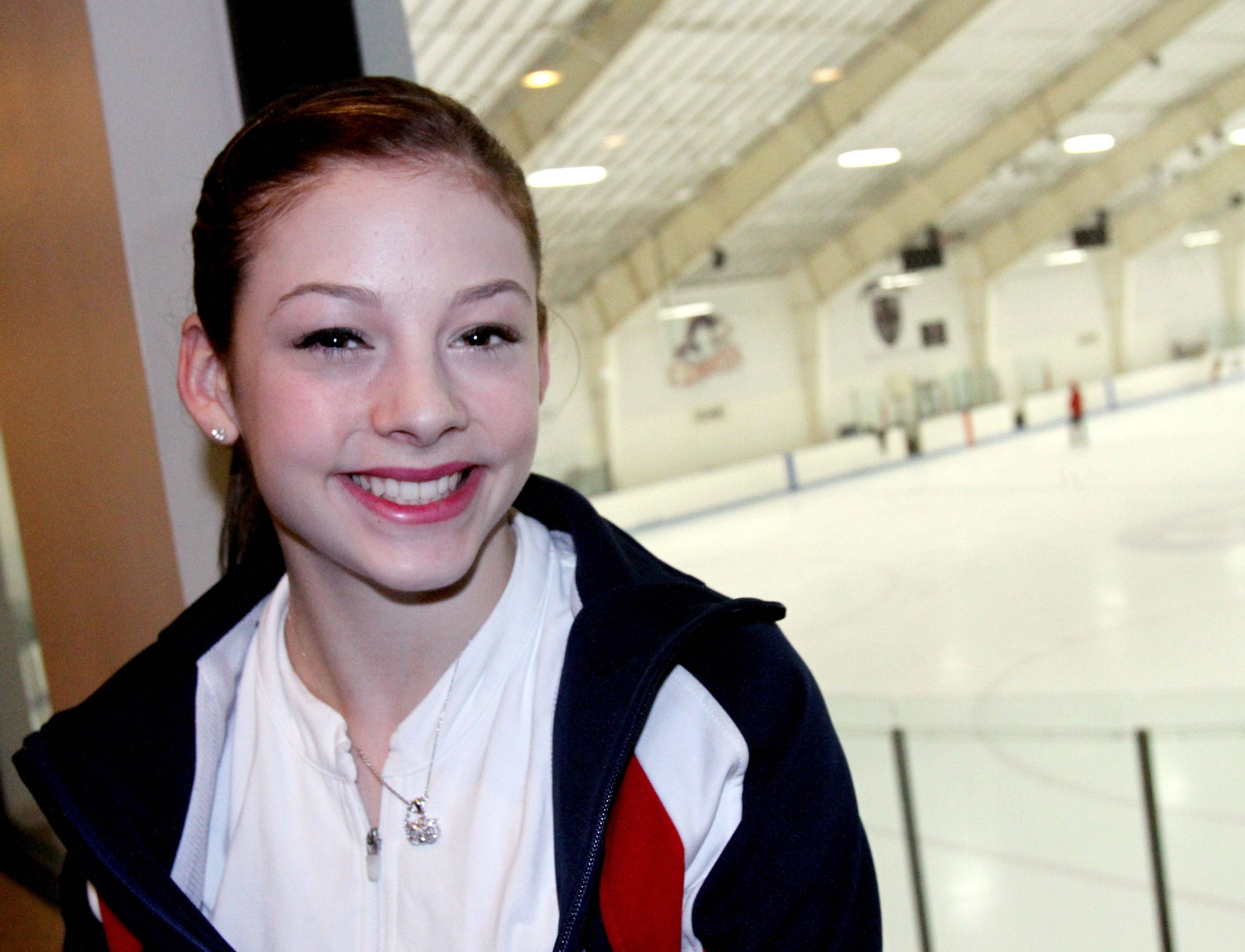 "Her coaches say Gracie Gold has what it takes to represent her country at the 2014 Winter Olympics in Sochi, Russia. ""It's my dream to be at the Olympics,"" she says. ""It's every skater's dream."""