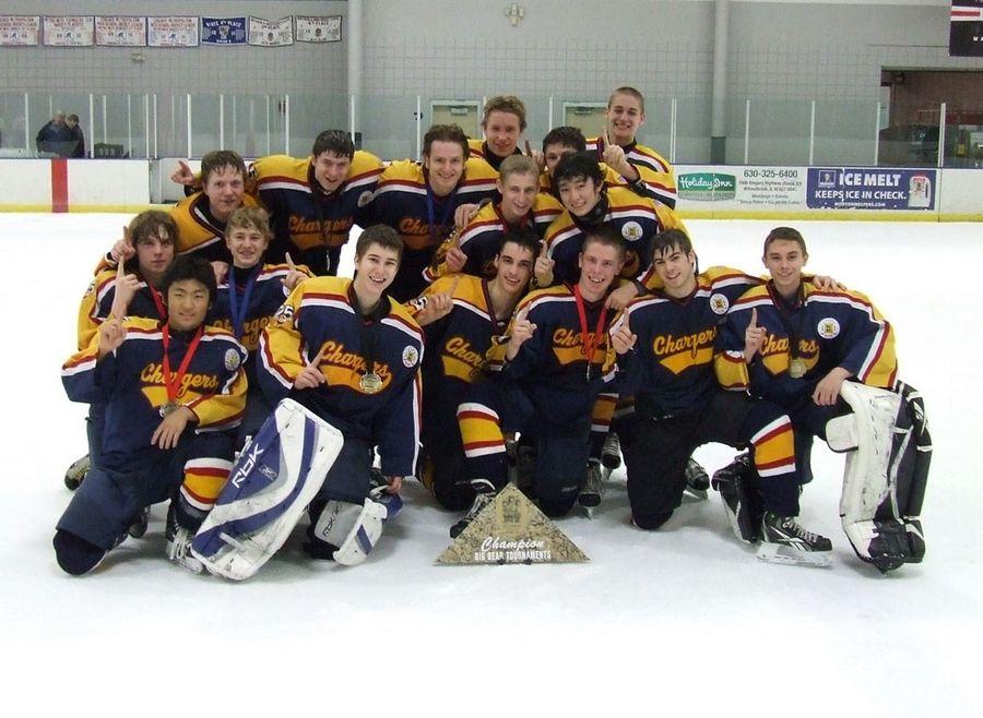 Rolling Meadows Hockey Team Wins Cross Road Chicago Ice Hockey