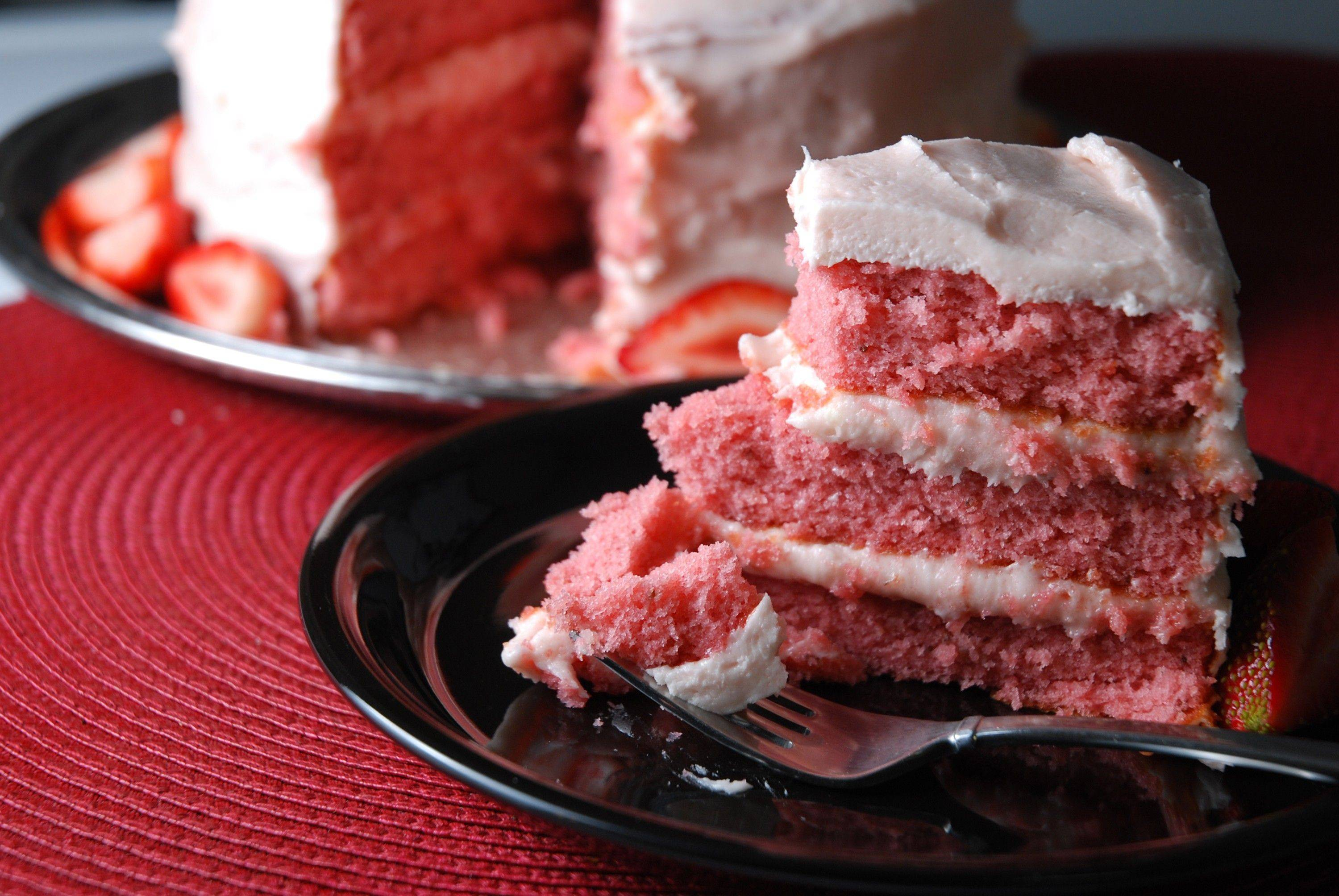 Lot to love about strawberry 'cheat cake'