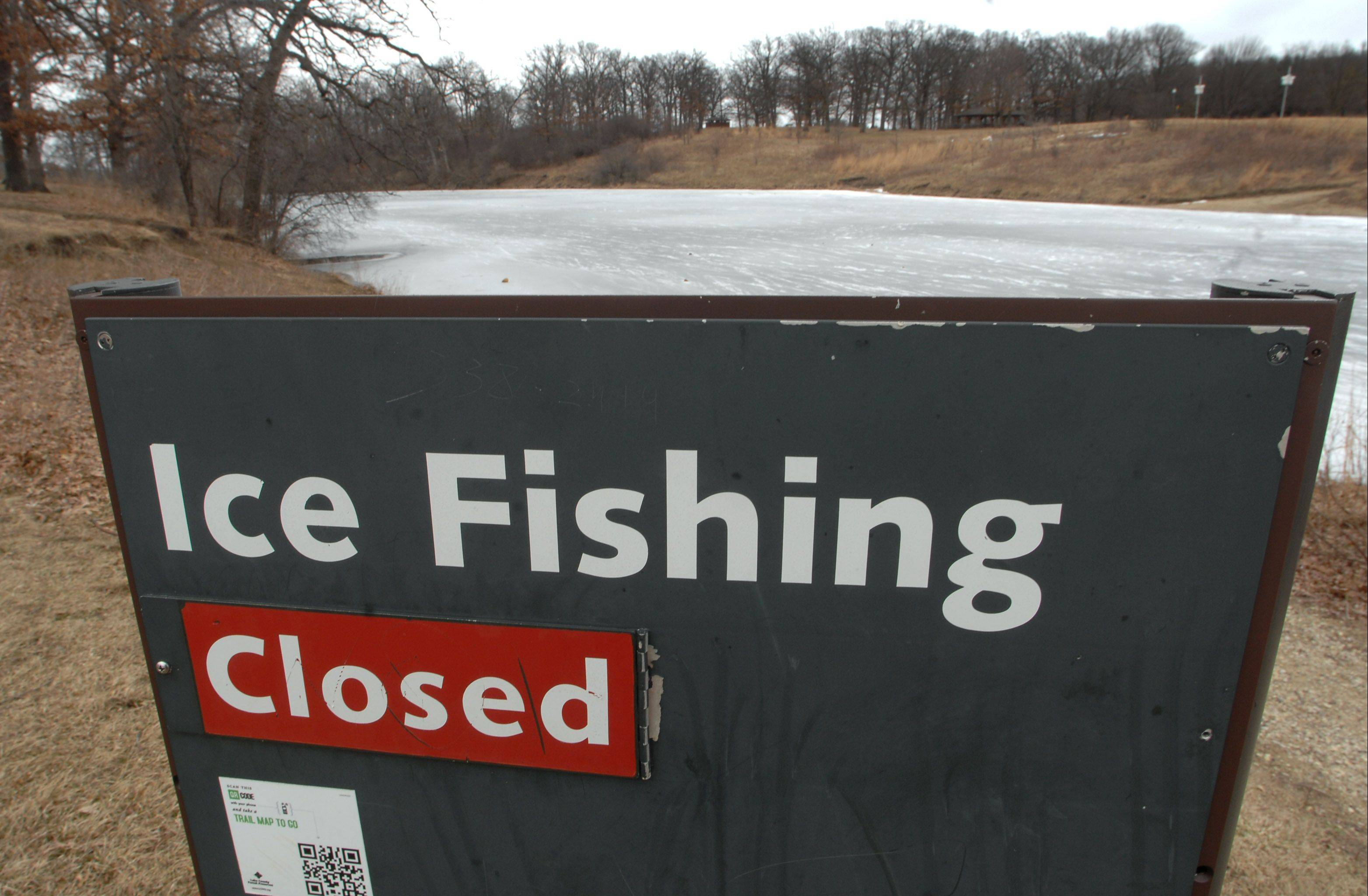 Crazy temps make ice fishing dangerous in suburbs