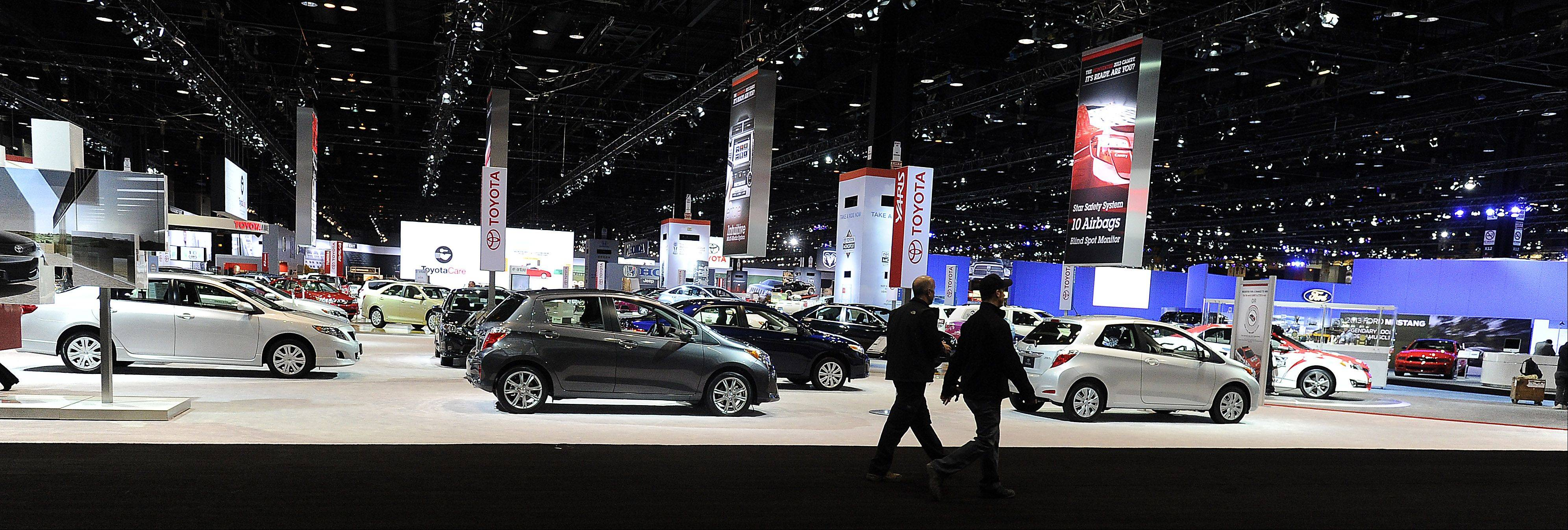 The 2012 Chicago Auto Show opens this Friday in Chicago.