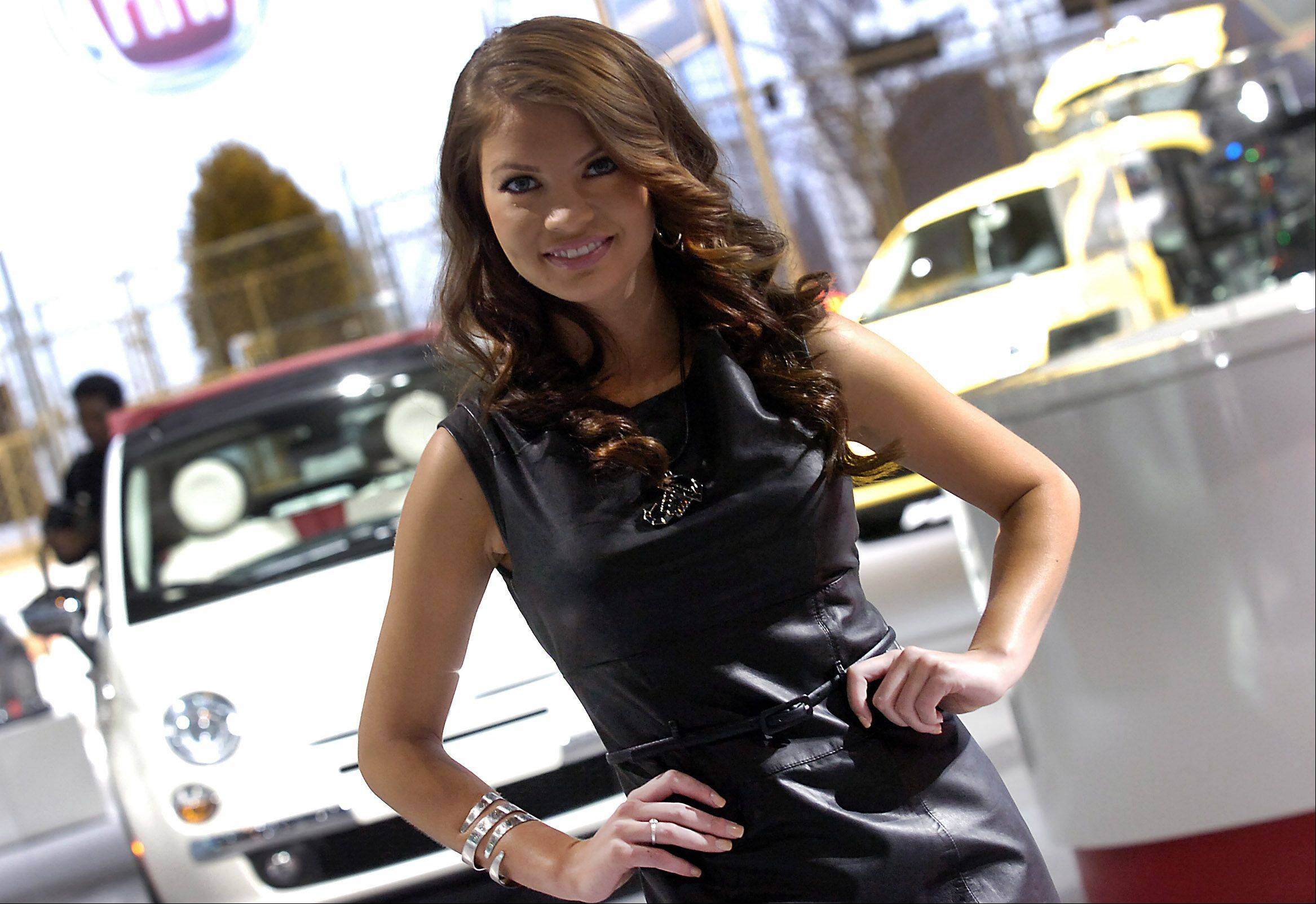 Scenes from the 2012 Chicago Auto Show's media day on Wednesday in Chicago.