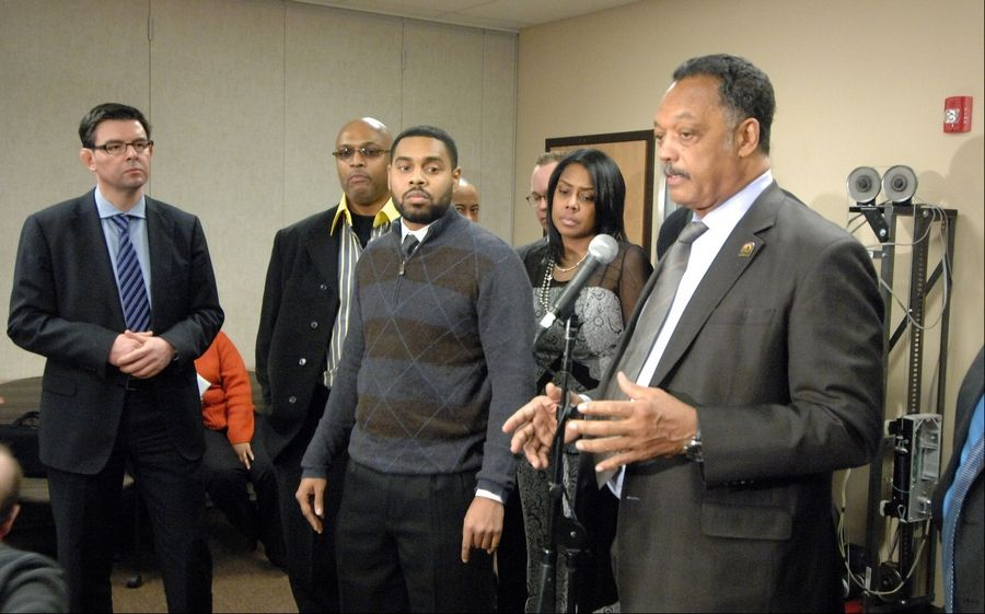 Jesse Jackson calls for changes at ThyssenKrupp Elevator