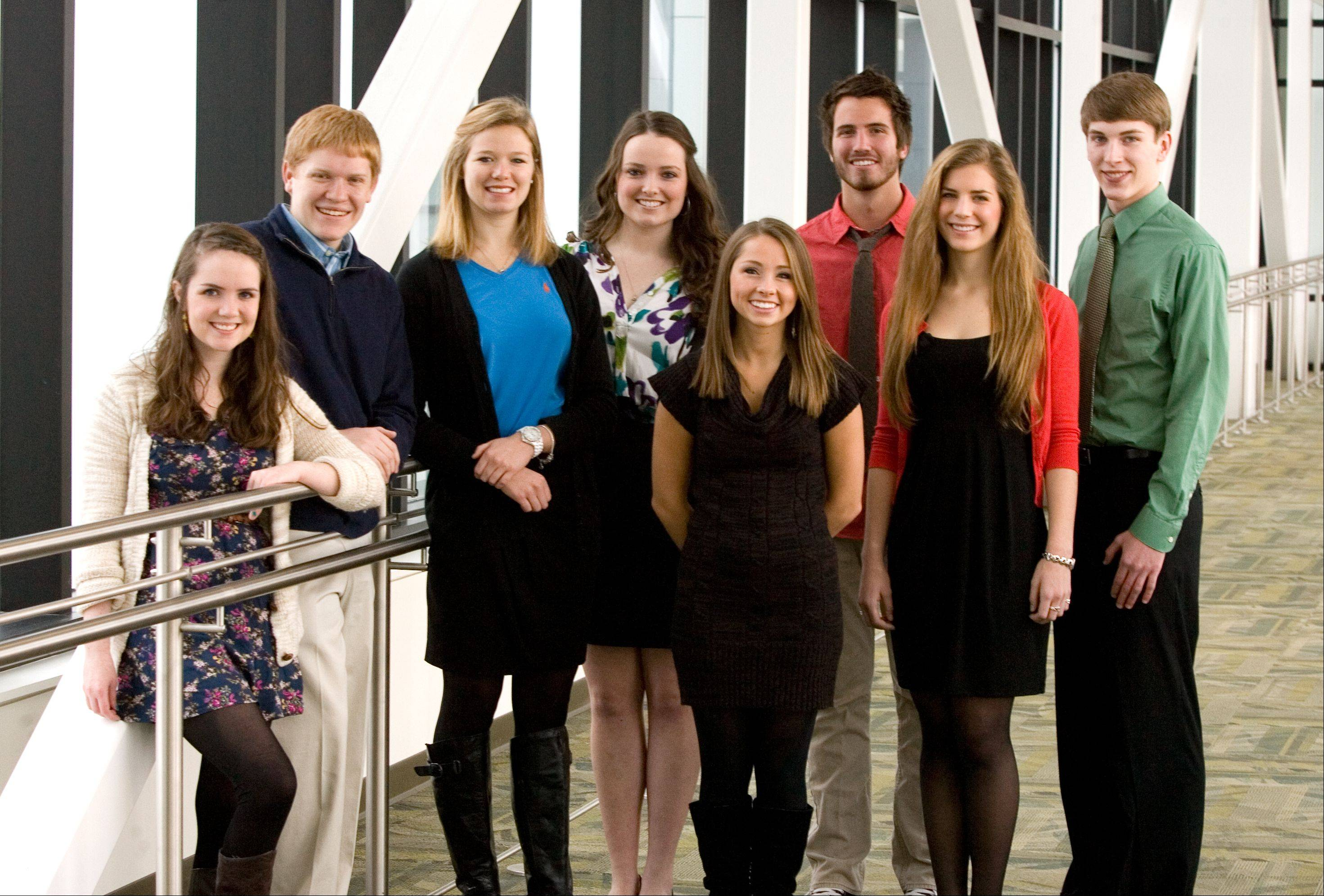 Meet the 2011-12 Daily Herald Leadership Team