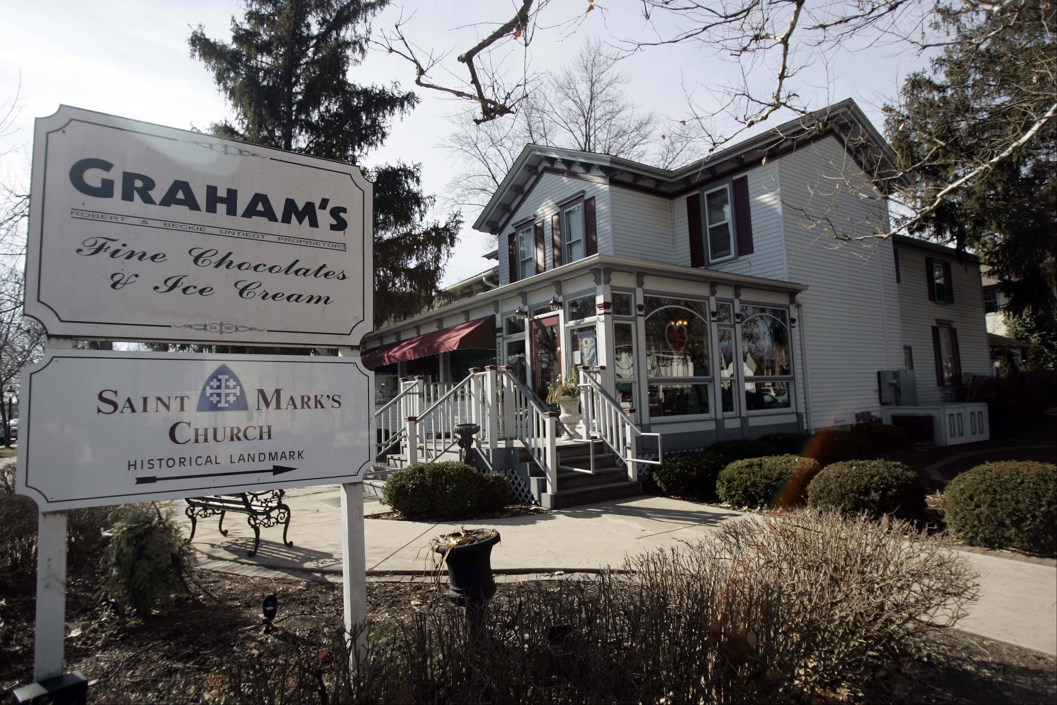 Graham's Fine Chocolates and Ice Cream in Geneva Wednesday, February 8, 2012.