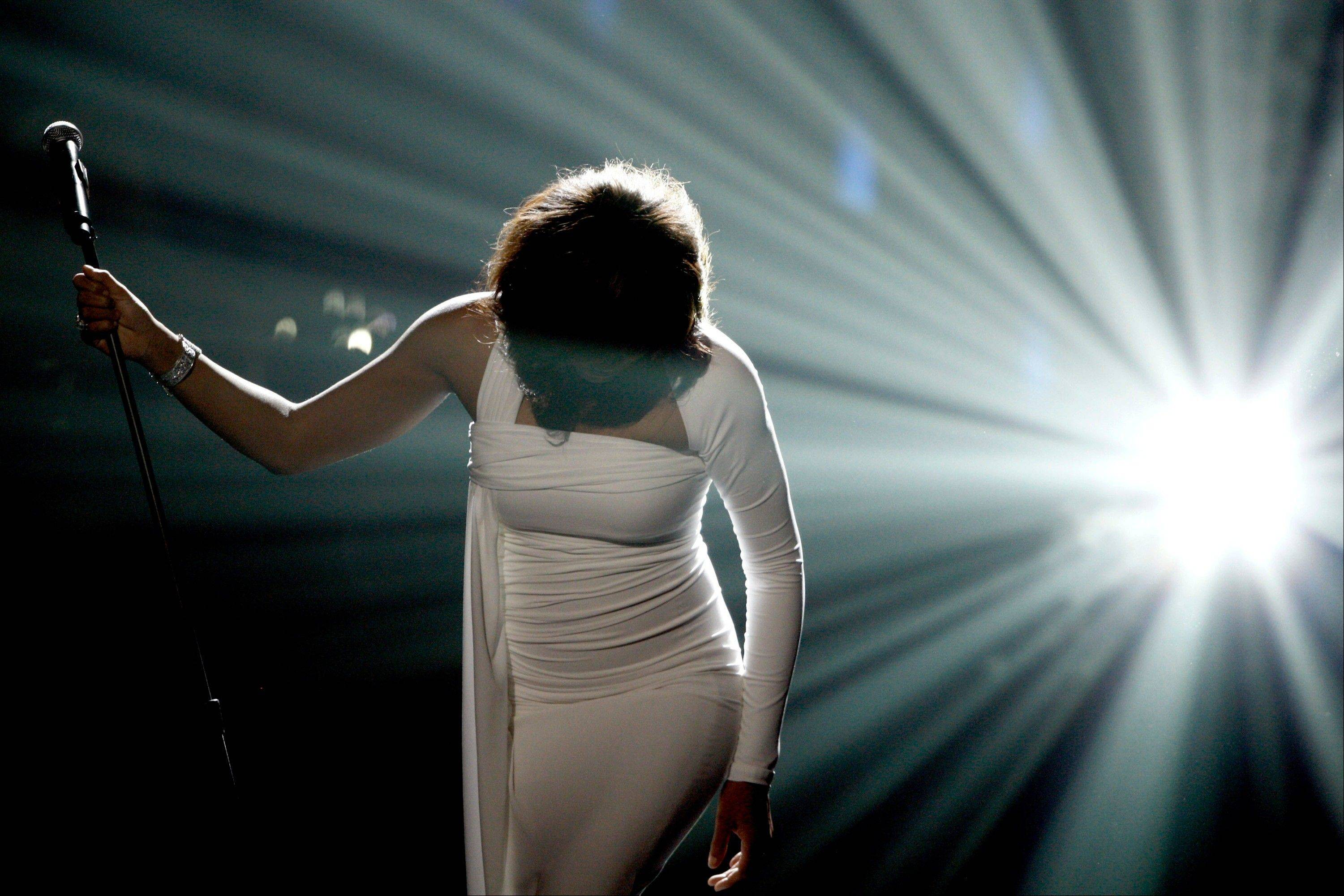 On Nov. 22, 2009, Whitney Houston performed onstage at the 37th Annual American Music Awards in Los Angeles. Houston died Saturday; she was 48.