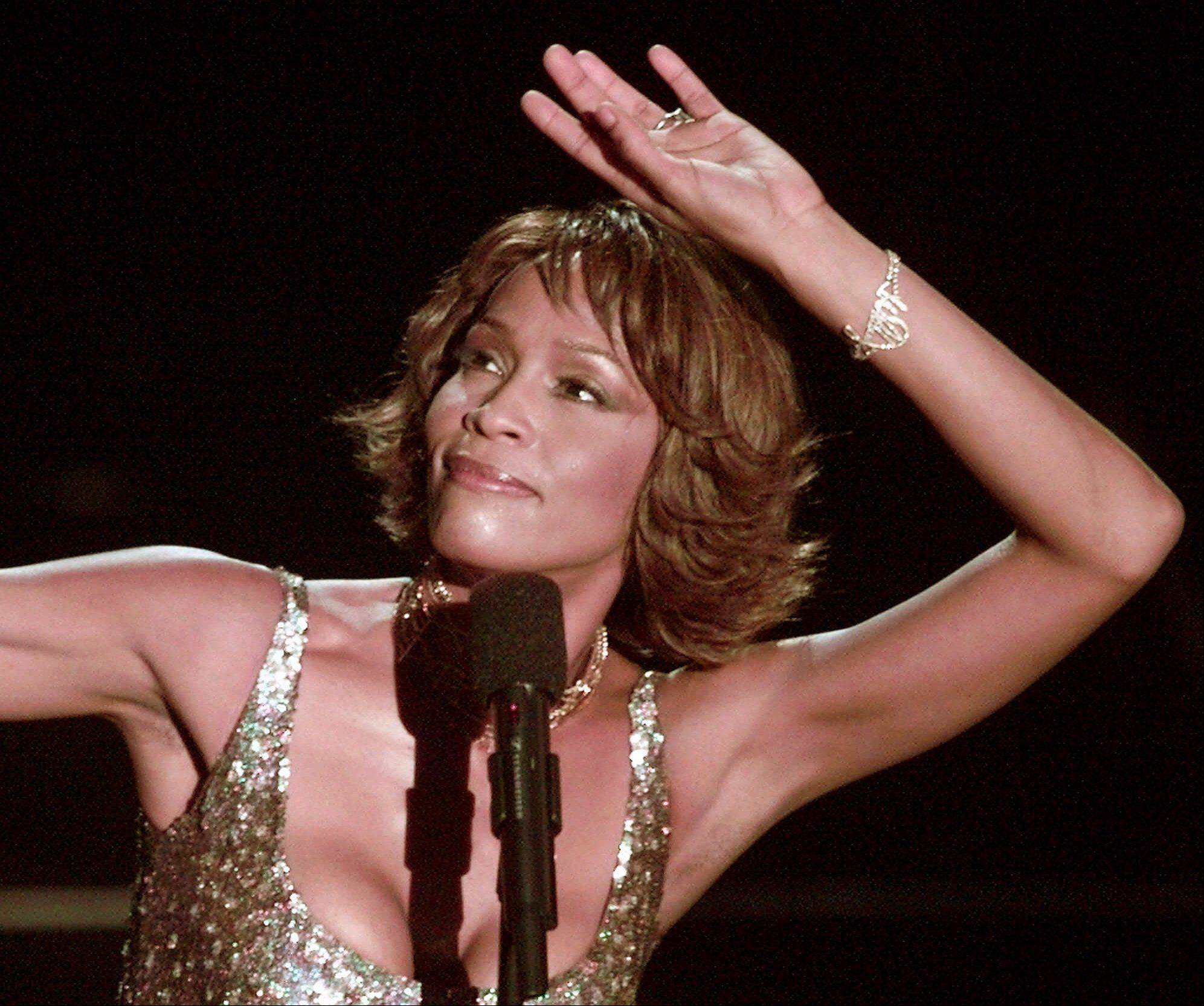 Entertainer Whitney Houston died Saturday at age 48.