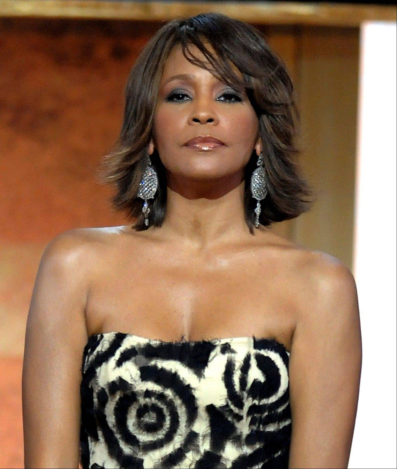 This Jan. 17, 2009, file photo shows singer Whitney Houston at the BET Honors in the Warner Theatre in Washington.