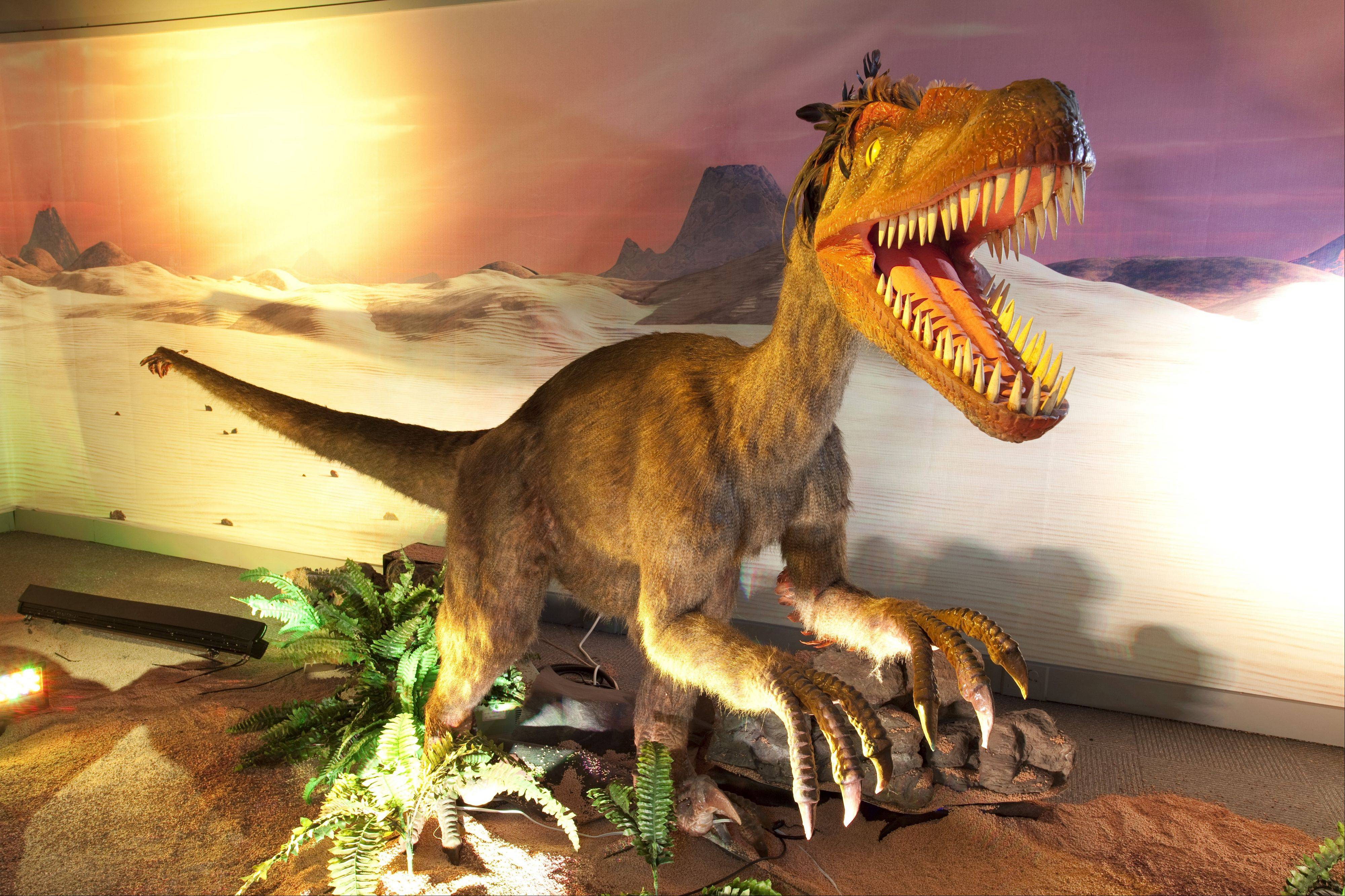 "Take the kids to the Quad Cities to see ""Dinosaurs Unearthed"" at the Putnam Museum."