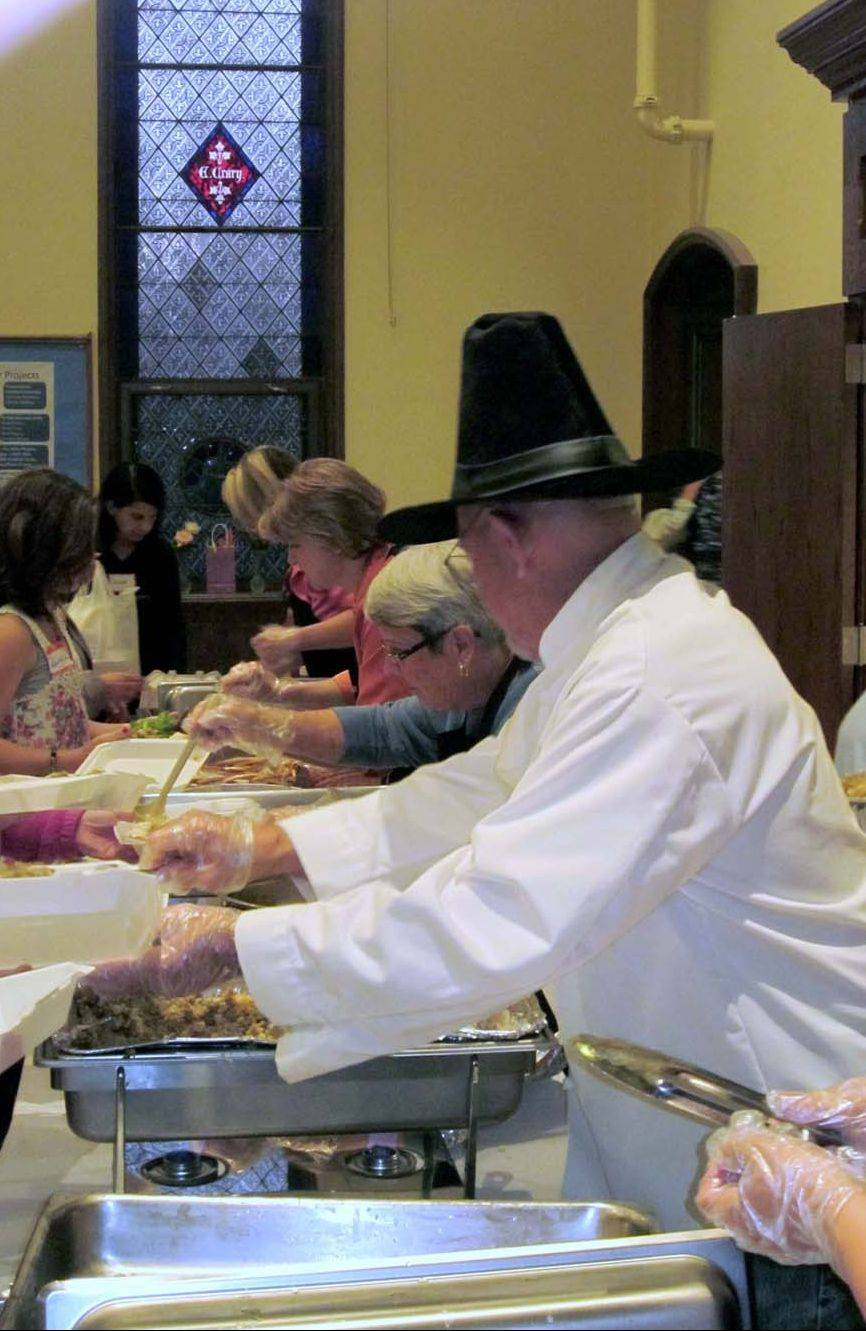The free community meal on the third Tuesday of the month at Geneva United Methodist Church has become one of the highlights of the month for my mother-in-law, who otherwise would have no other way t