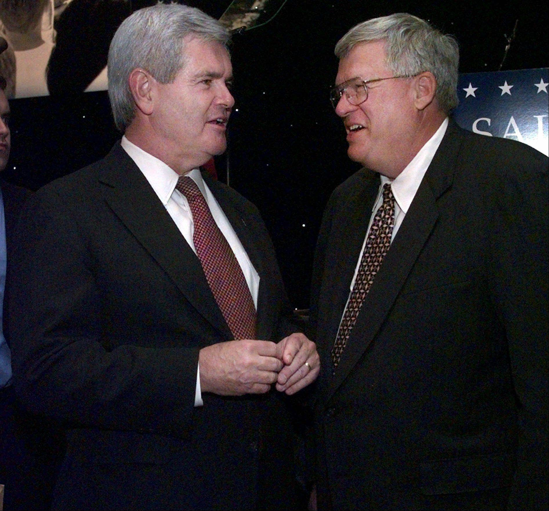 Why Hastert backs Romney over Gingrich