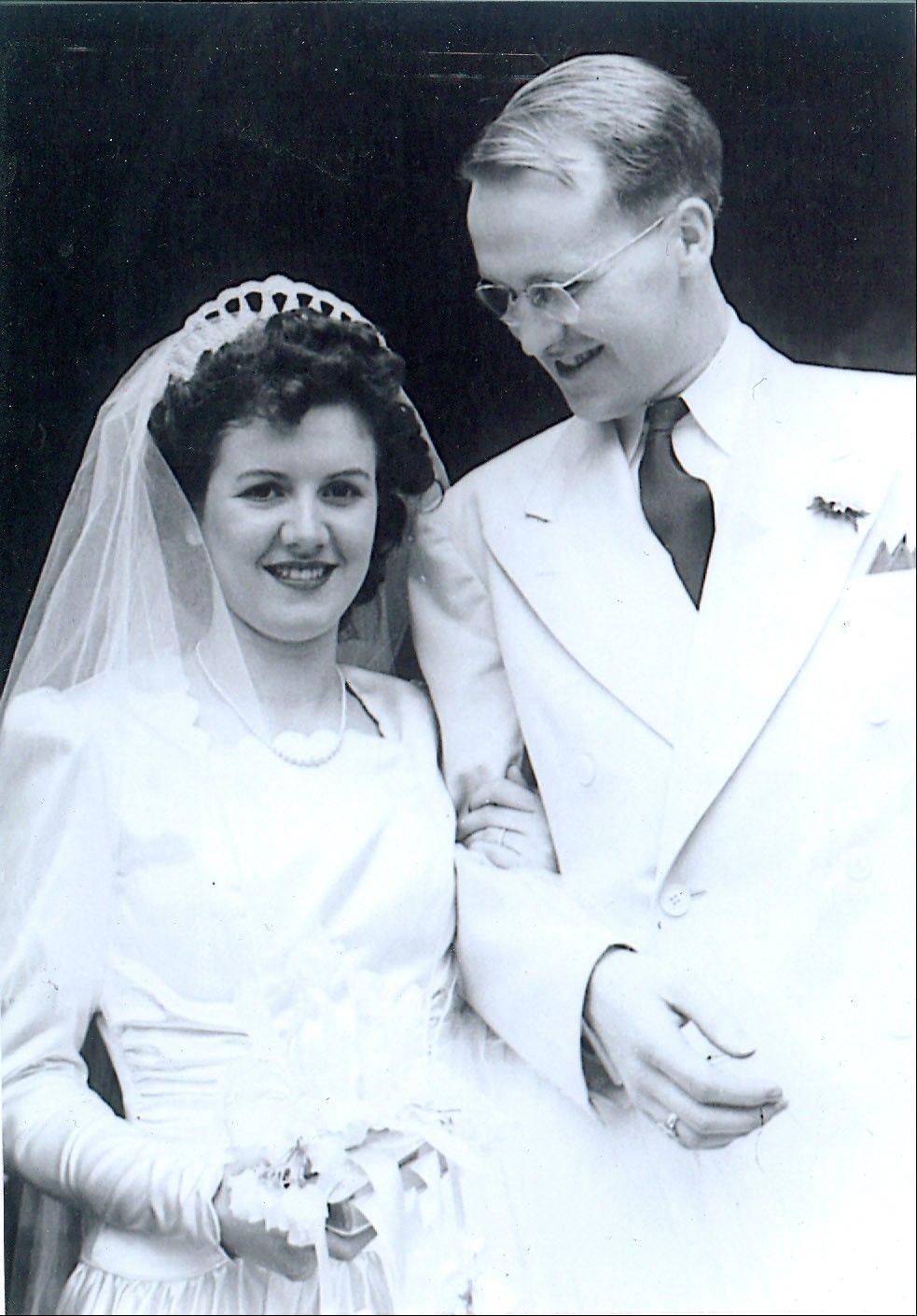 A week after Bernice and Dick McKillip were married, he was shipped out to serve in the Army during World War II.
