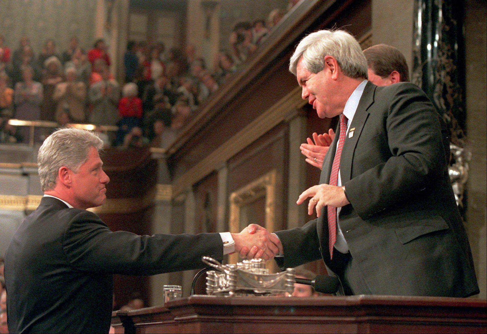 Images: Newt Gingrich and Dennis Hastert