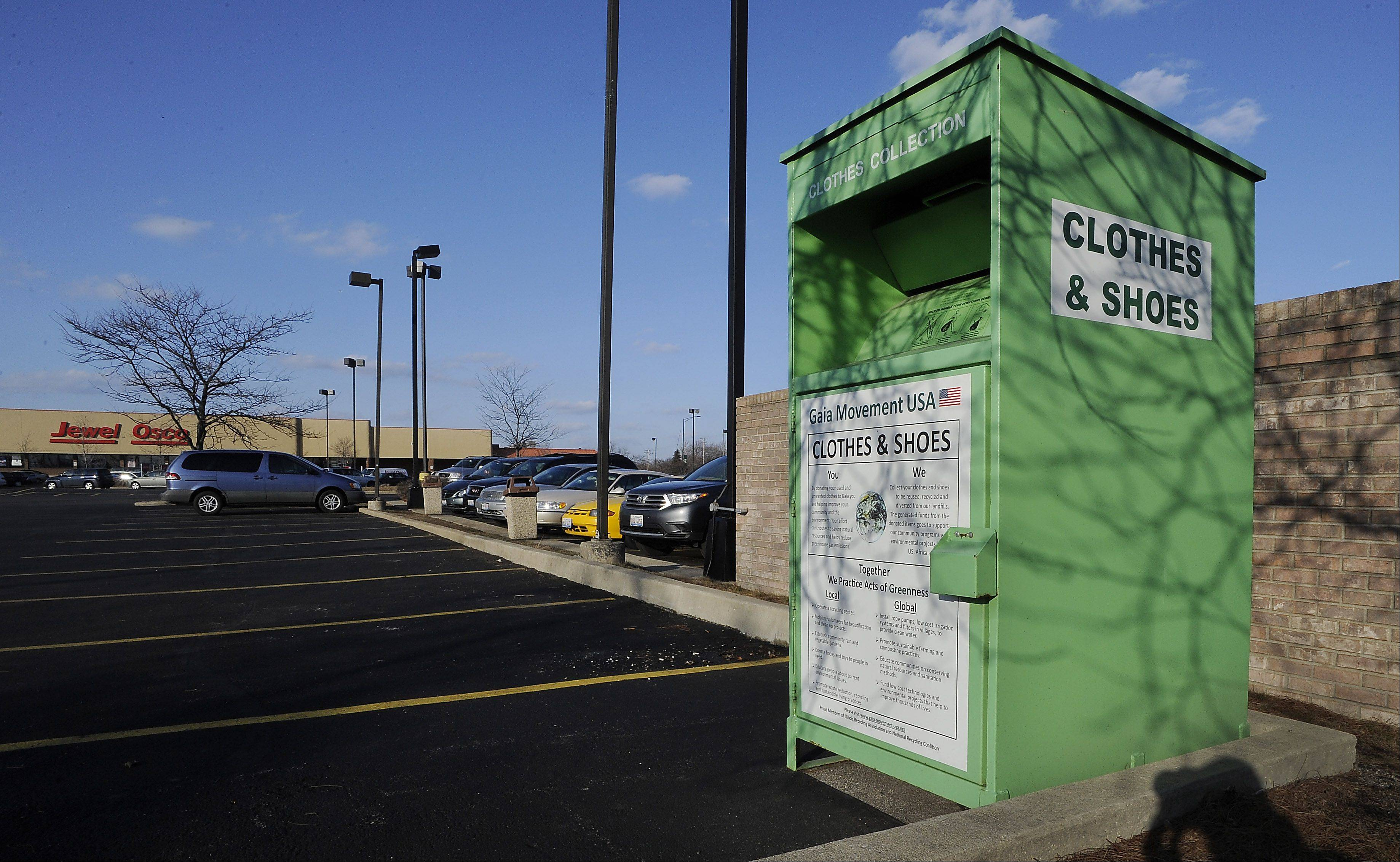 Elk Grove looking at donation box restrictions