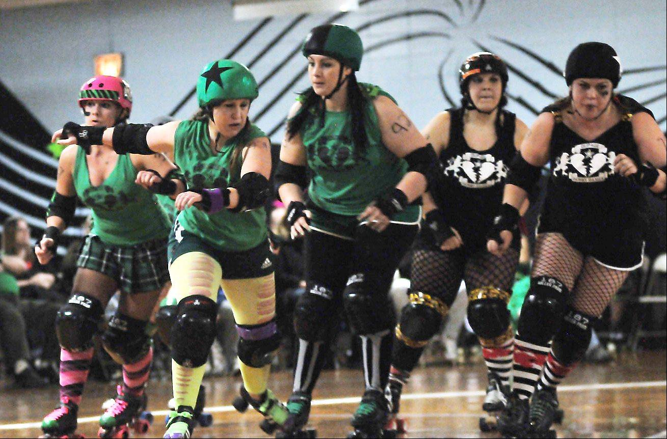 Roller derby team brings sport, not drama, to the rink