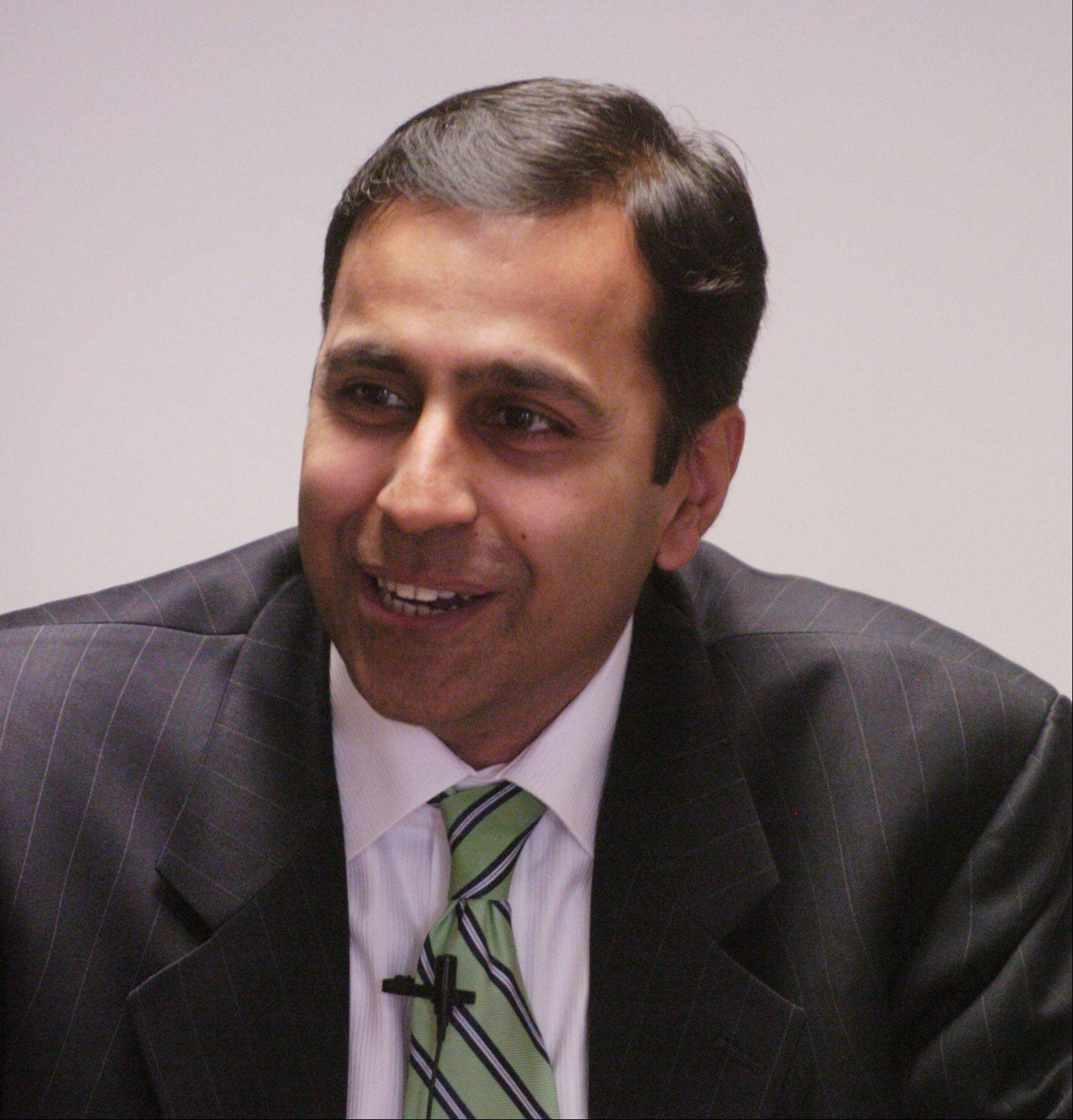 Eighth District Democratic primary candidate Raja Krishnamoorthi wants to take Tammy Duckworth's challenge to refuse PAC funding further.