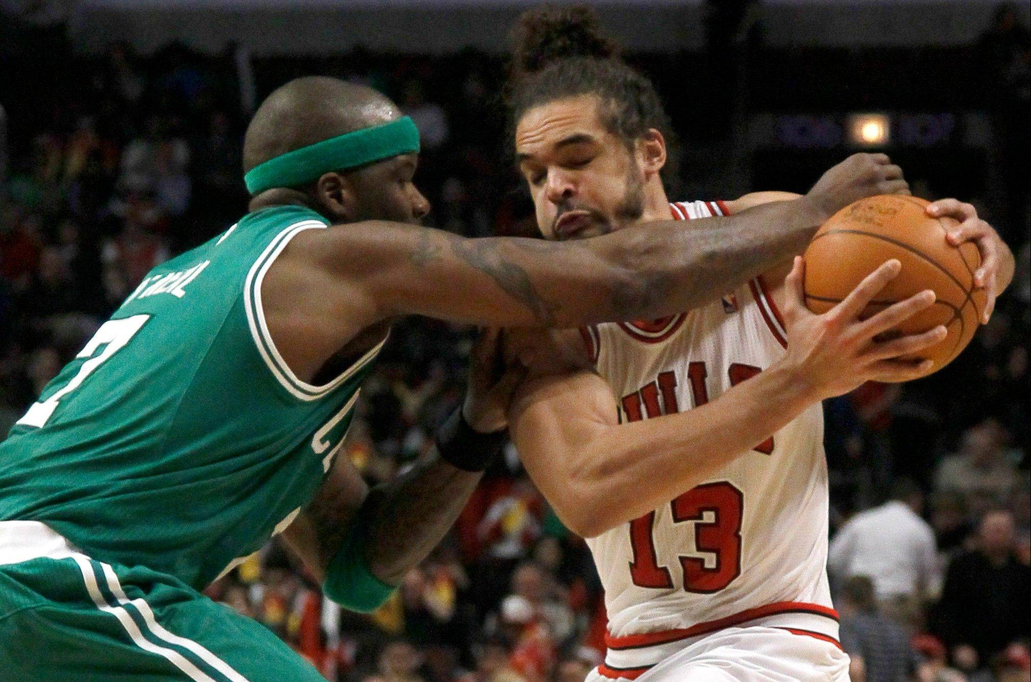 Joakim Noah has recorded four double-doubles in his last five games, averaging over 16 points and 12 rebounds for the Bulls.