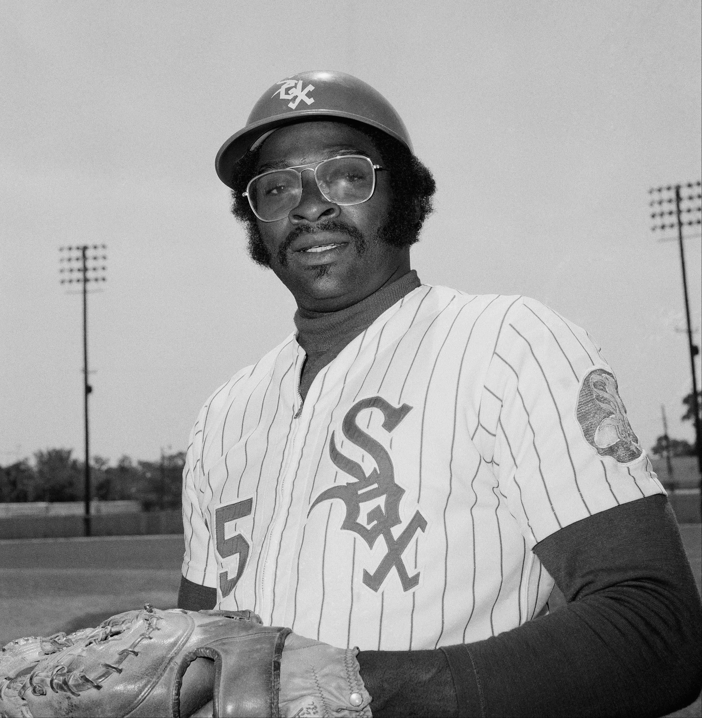 Dick Allen, first baseman, Chicago White Sox, 1973.