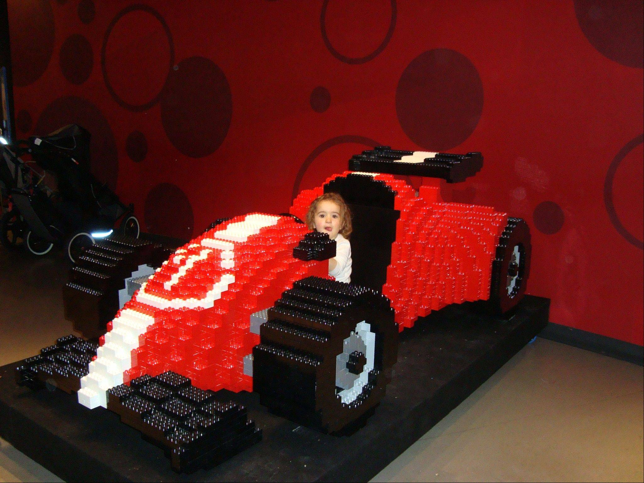 """LEGO Travel Adventure"" is one of three new exhibits opening this spring at the Children's Museum of Indianapolis."